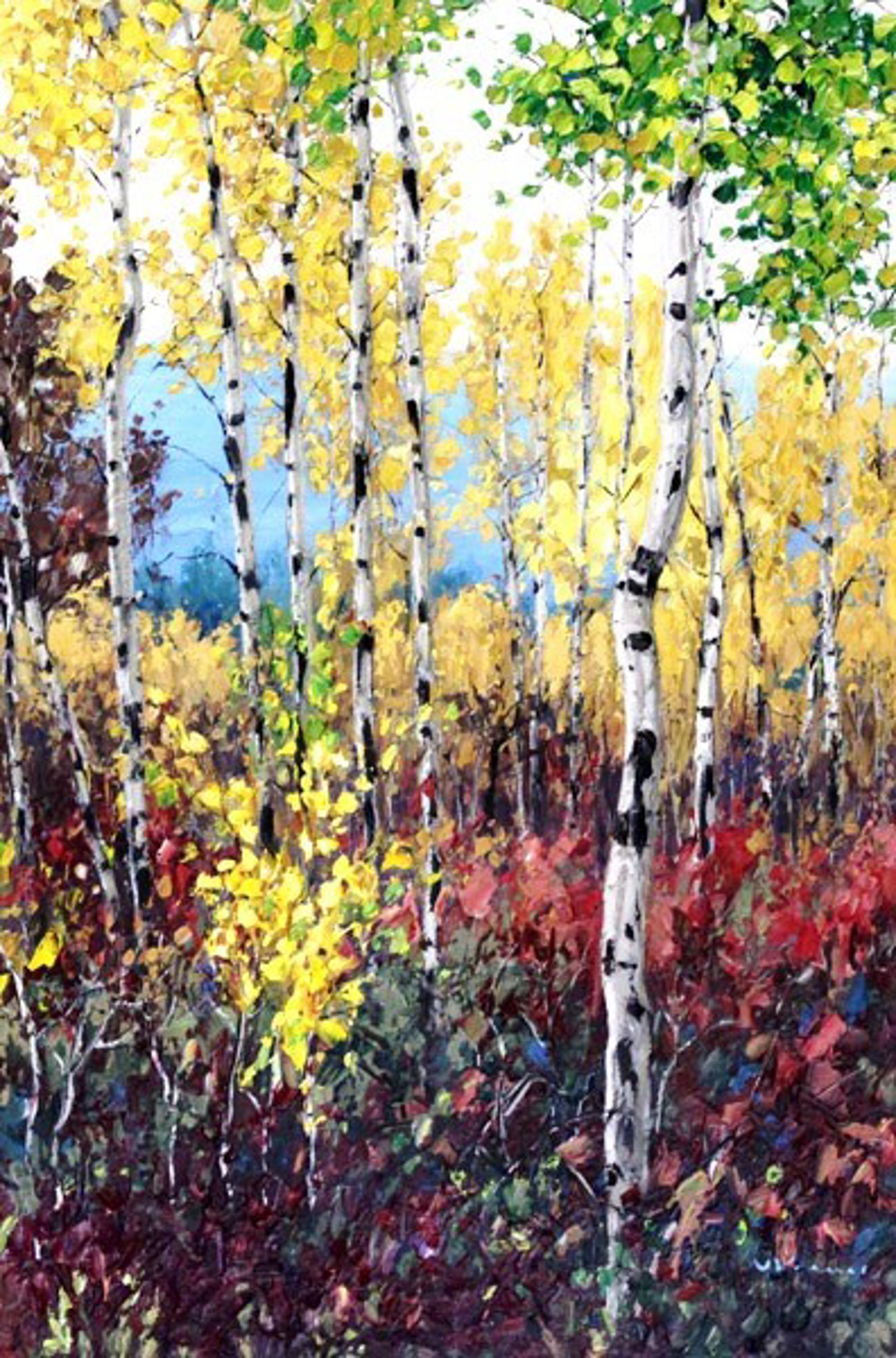 Lovely Fall by Jennifer Vranes