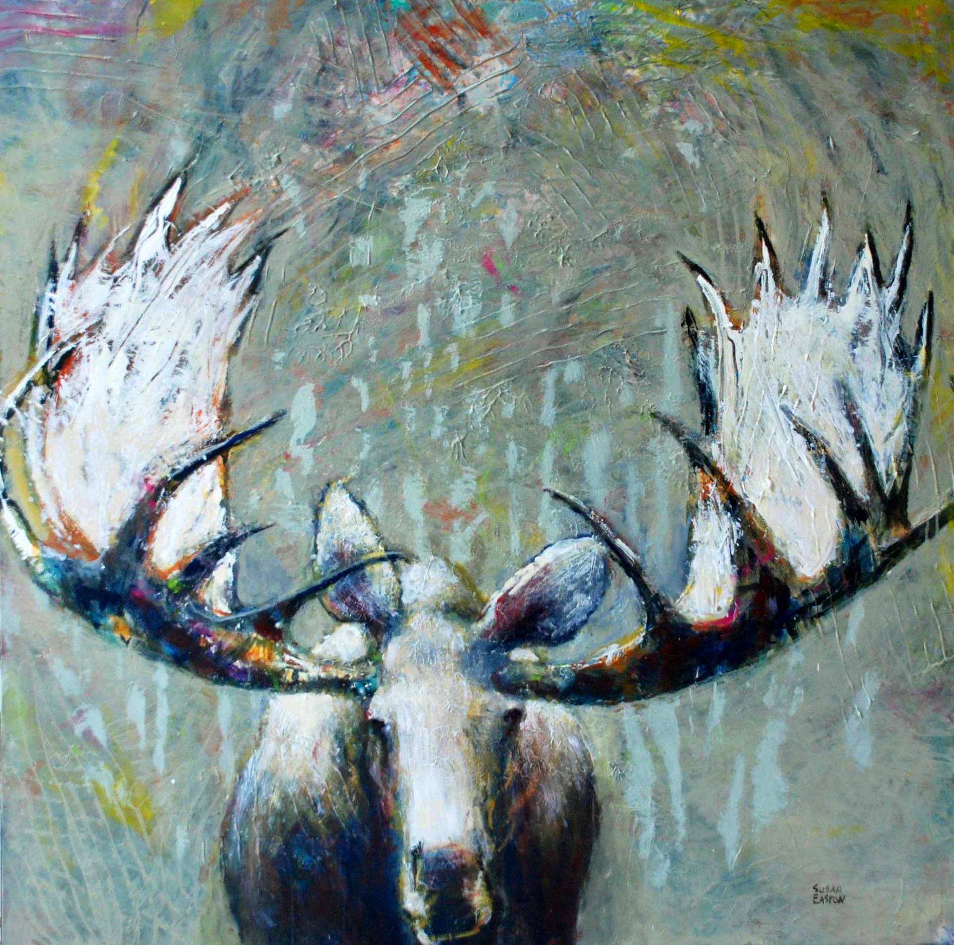 Solitare  by Susan Easton Burns