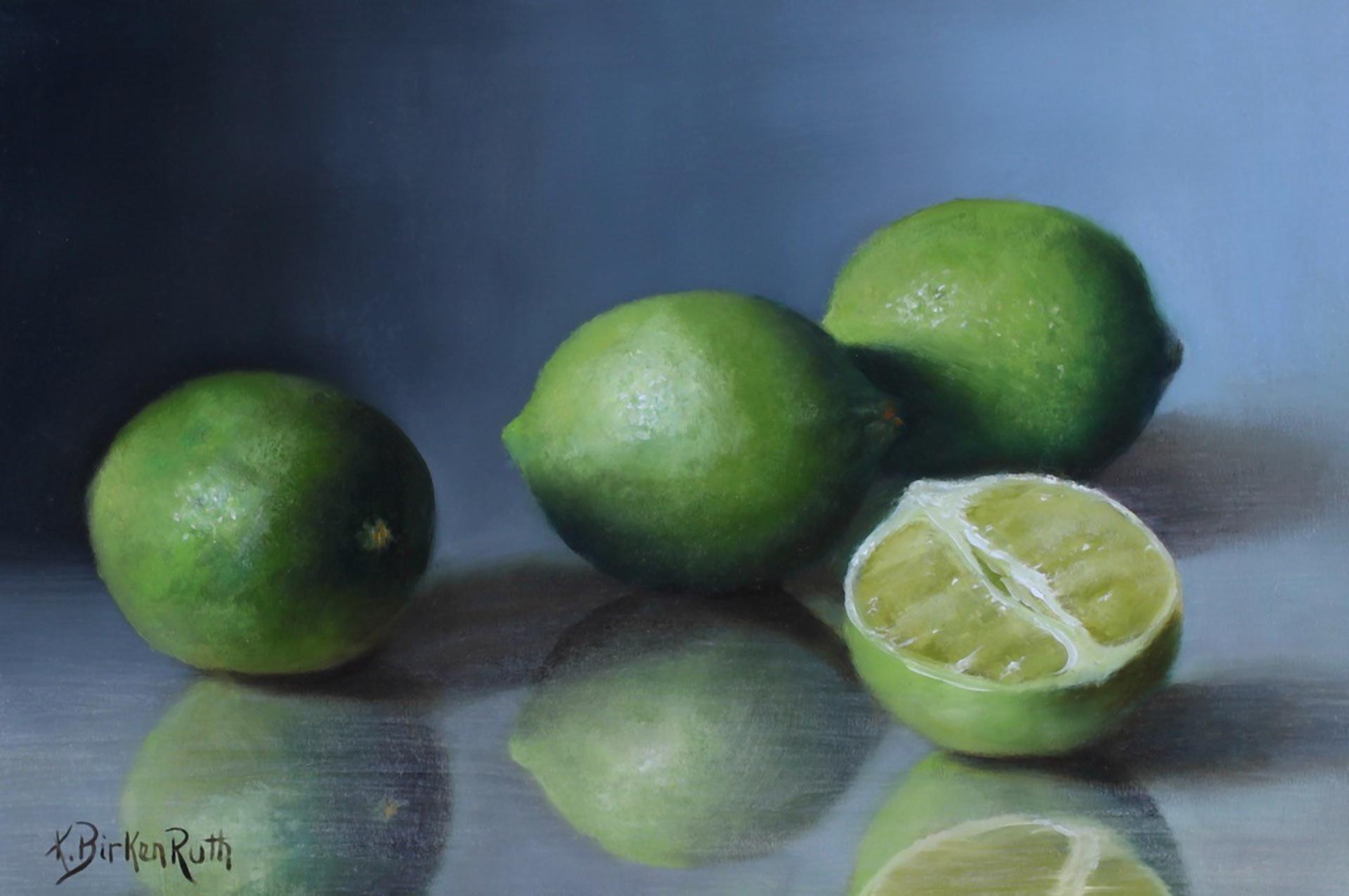Cut Limes by Kelly Birkenruth