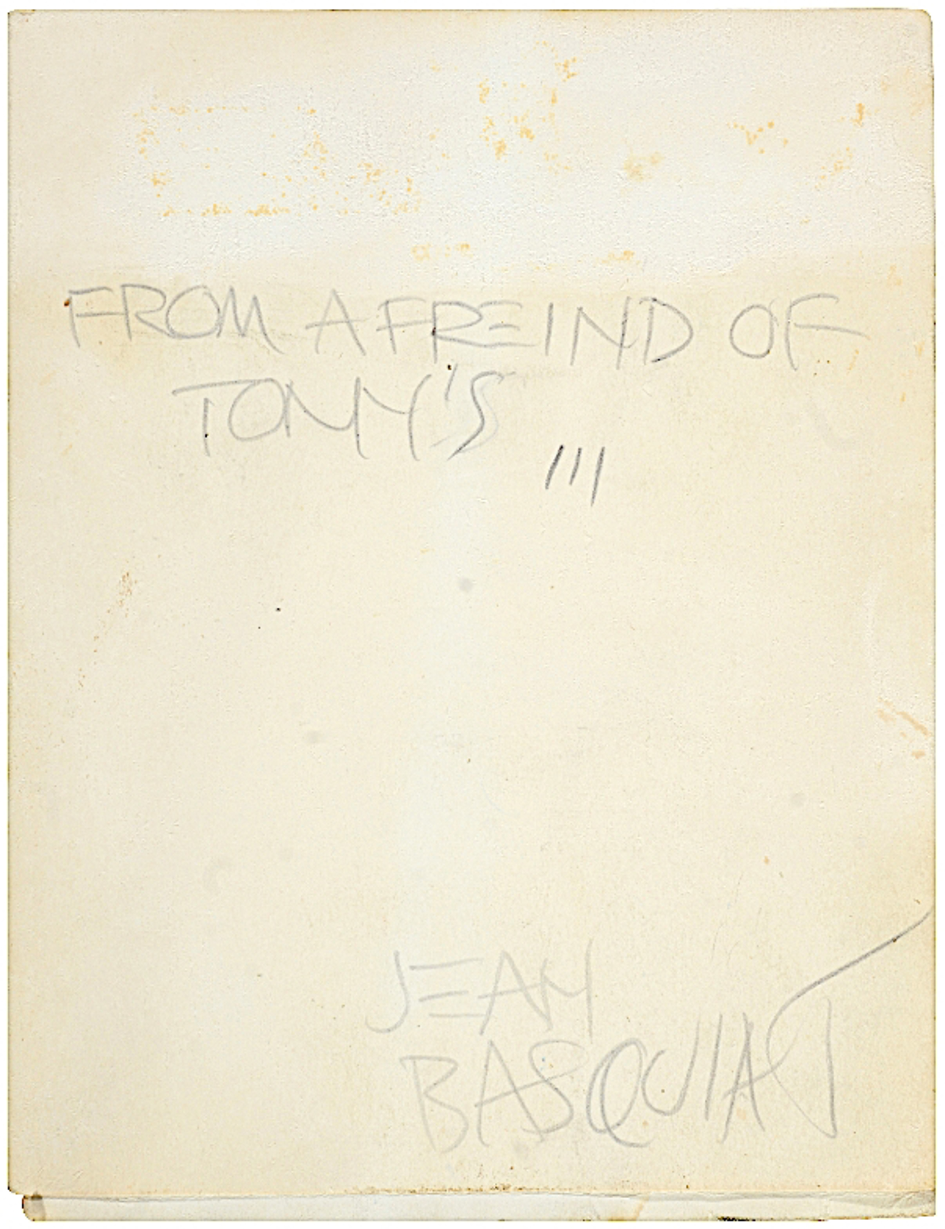 New York (Anti-Product Card)  by Jean-Michel Basquiat
