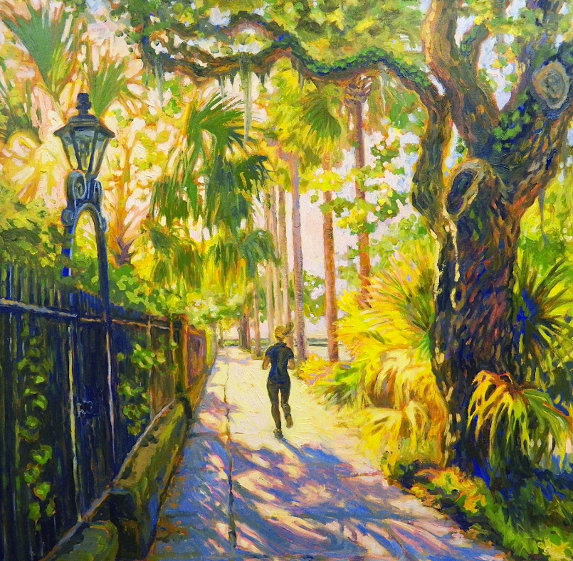 Morning Run by Olessia Maximenko