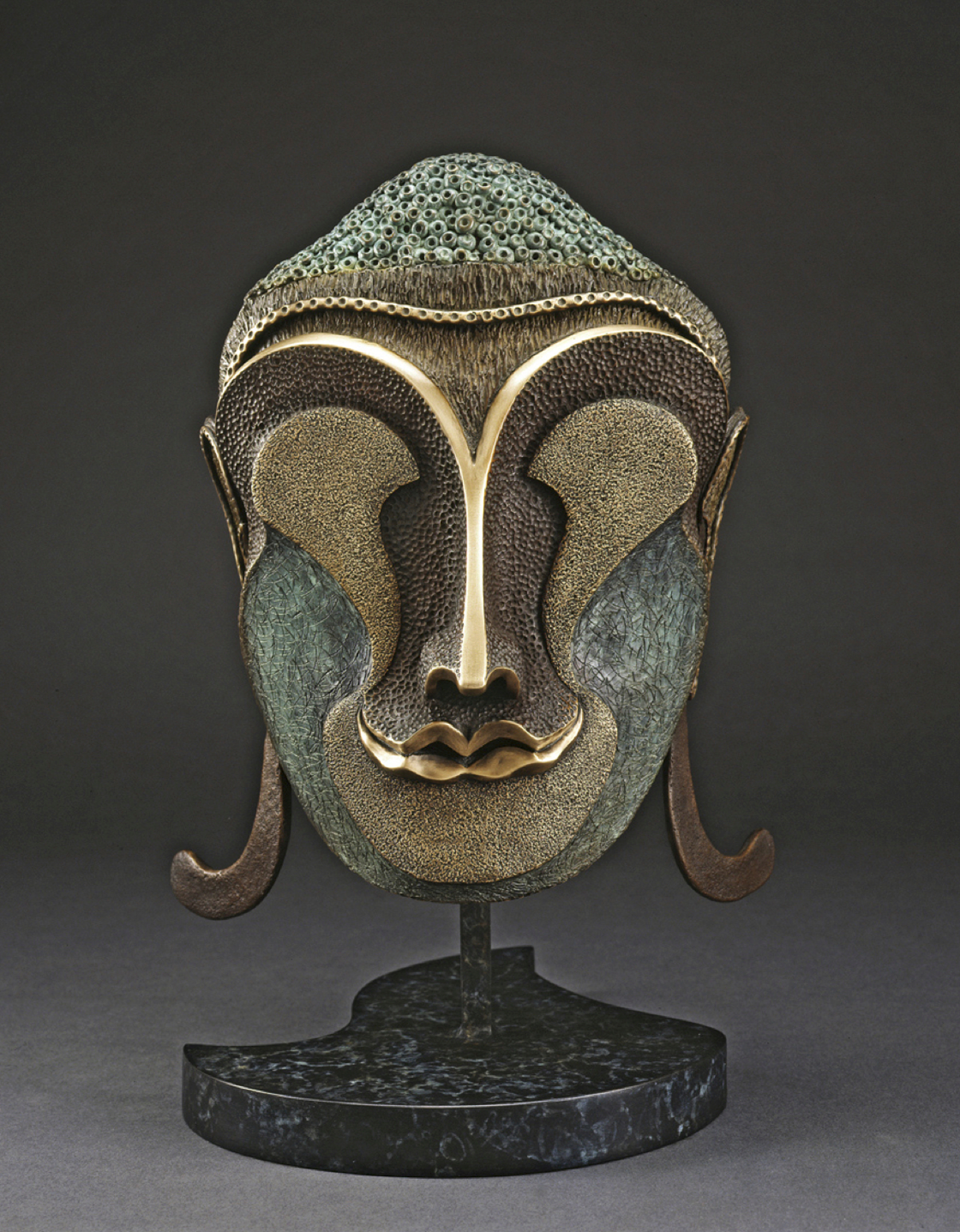 Buddha Mask by David Hoptman