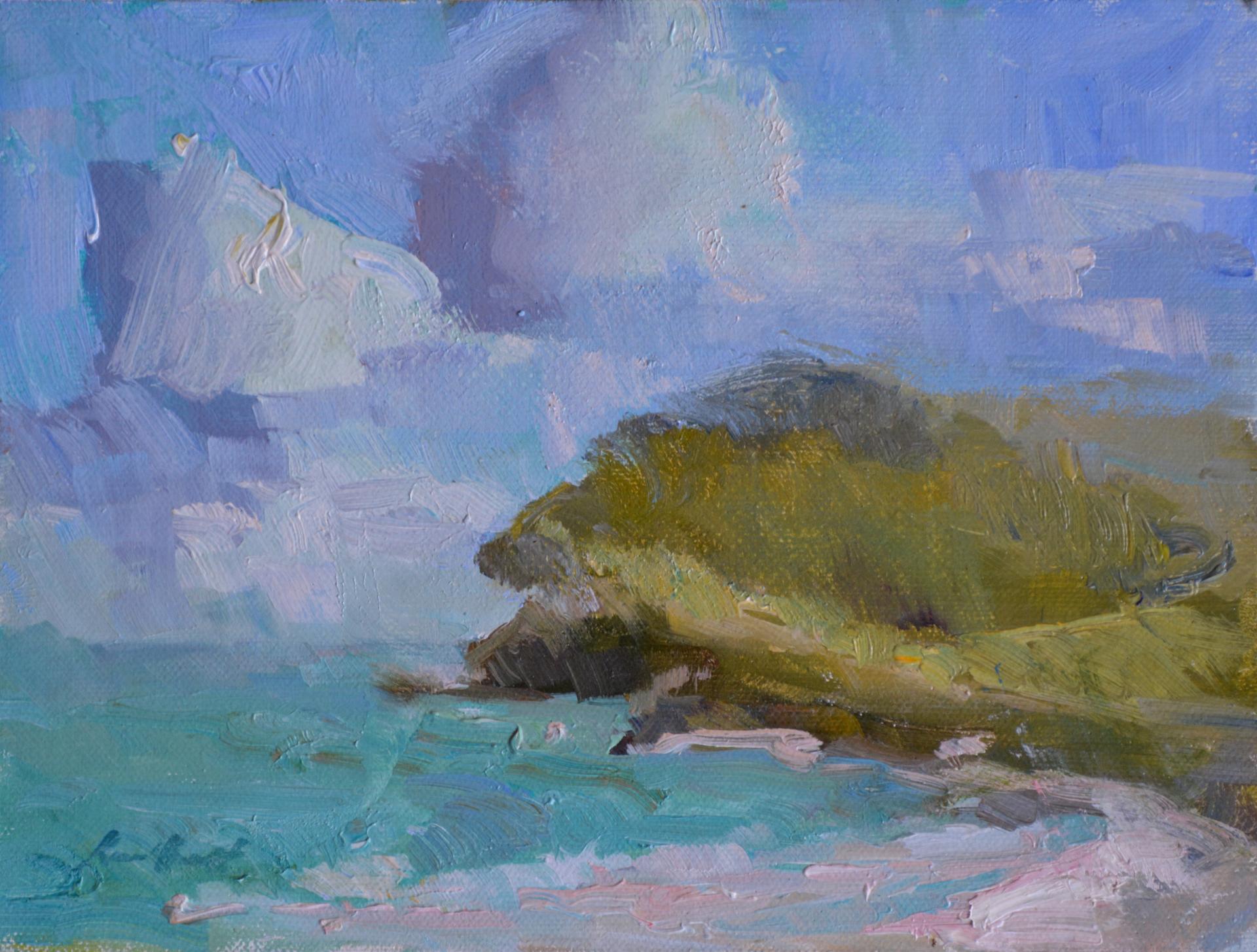 St. Croix Beach by Karen Hewitt Hagan