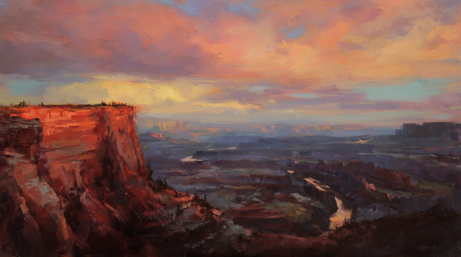 Sunset at Dead Horse Point by Lindsey Kustusch