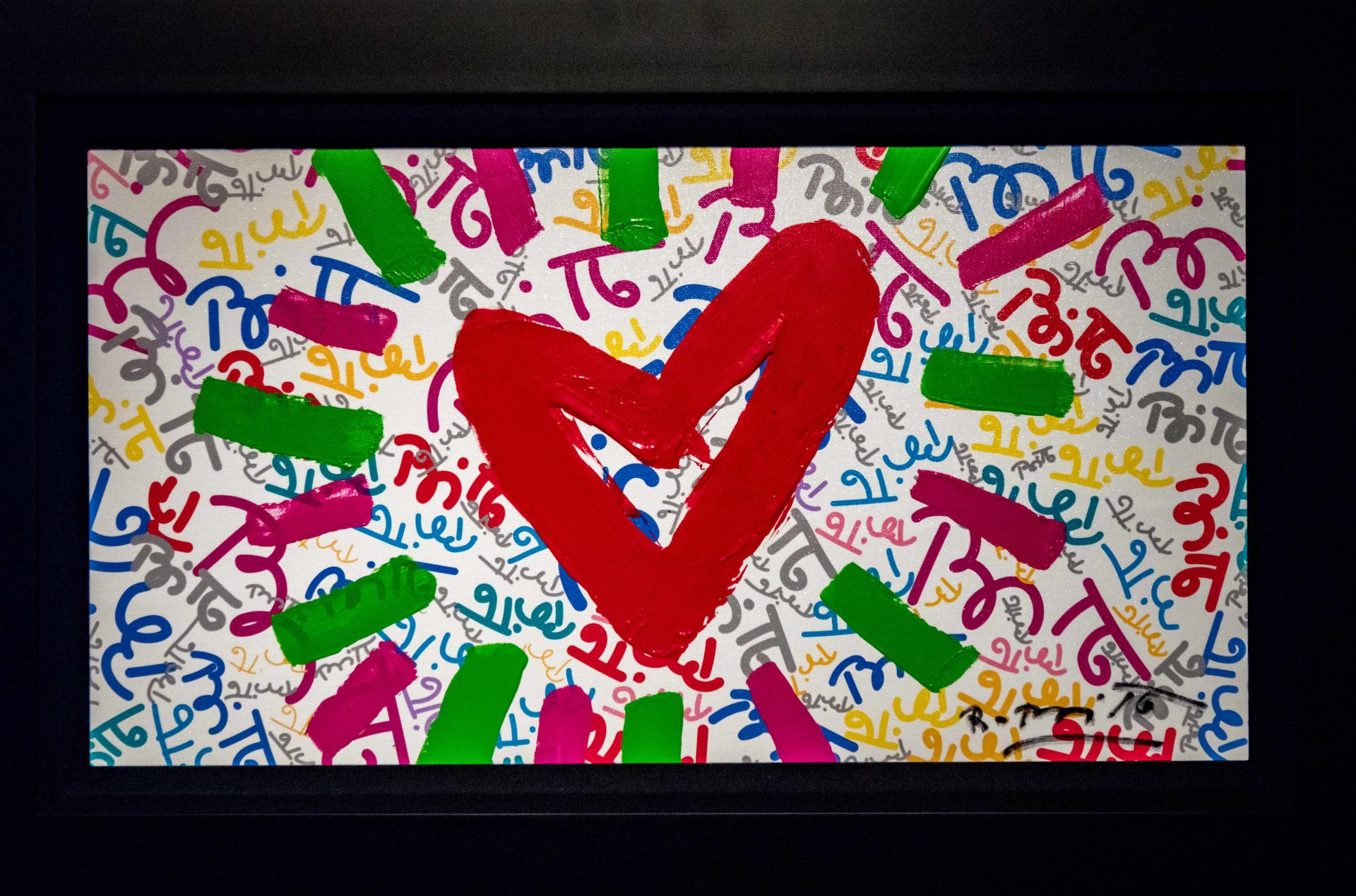 LOVE EVERYONE by Romero Britto