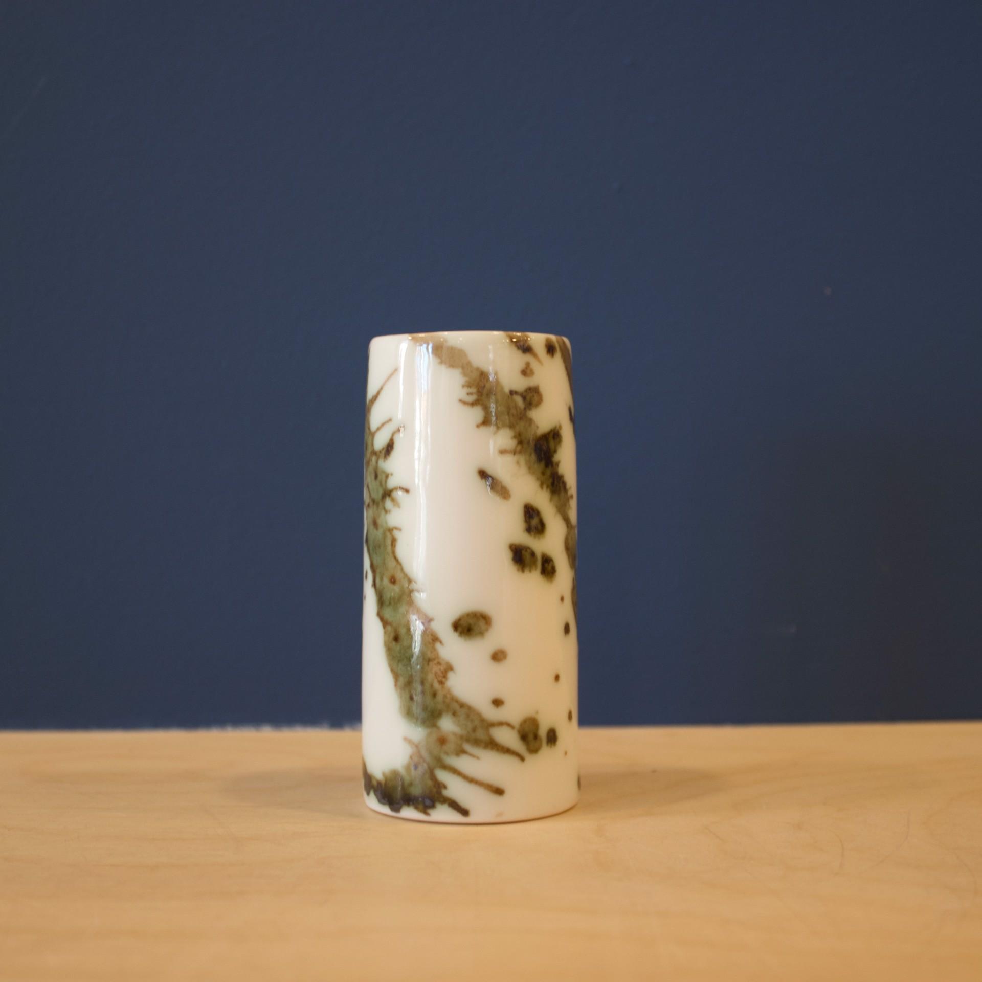 Small Splash Cylinder  by Patricia Thom
