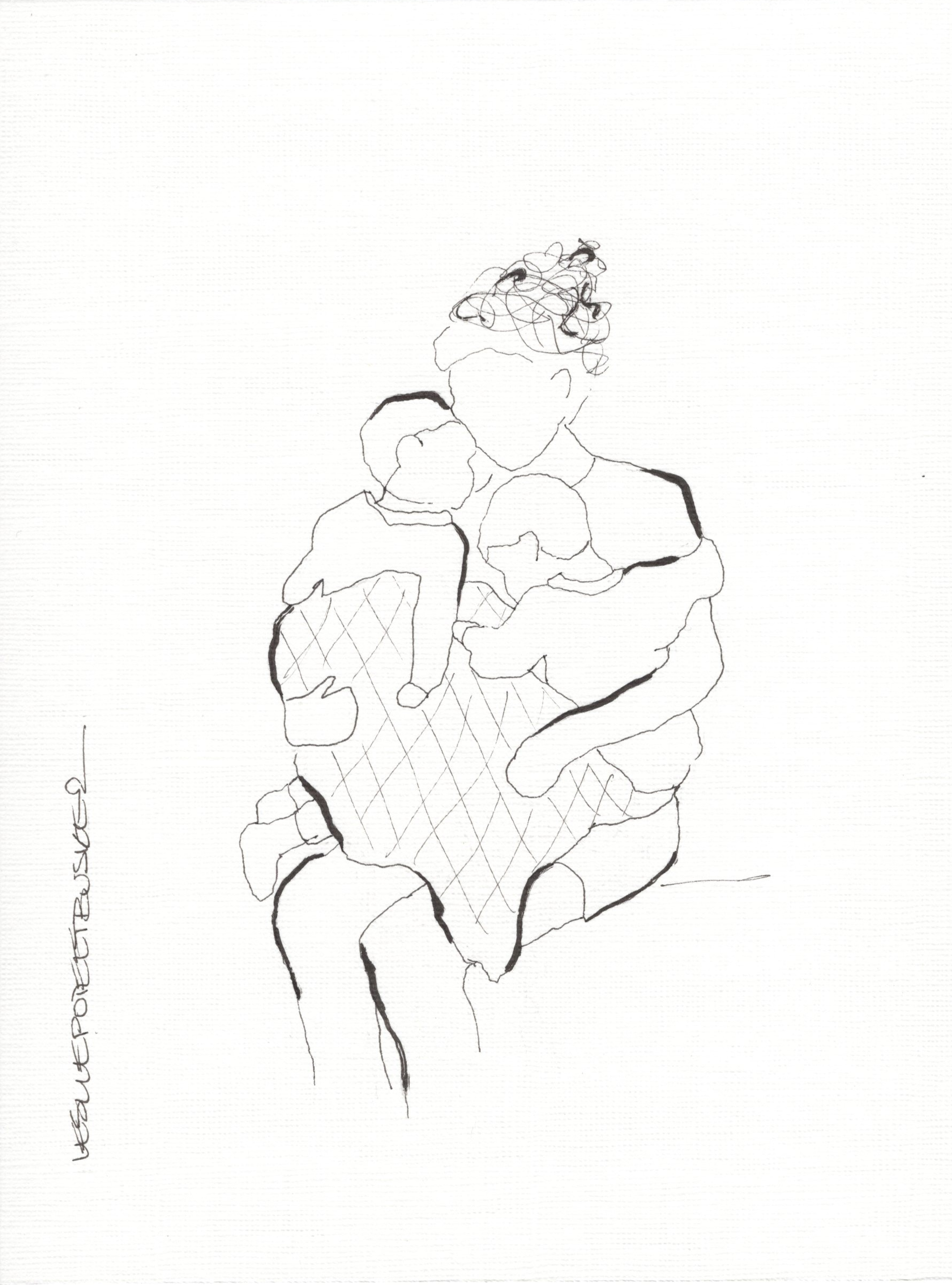 Mother and Child No. 7 by Leslie Poteet Busker