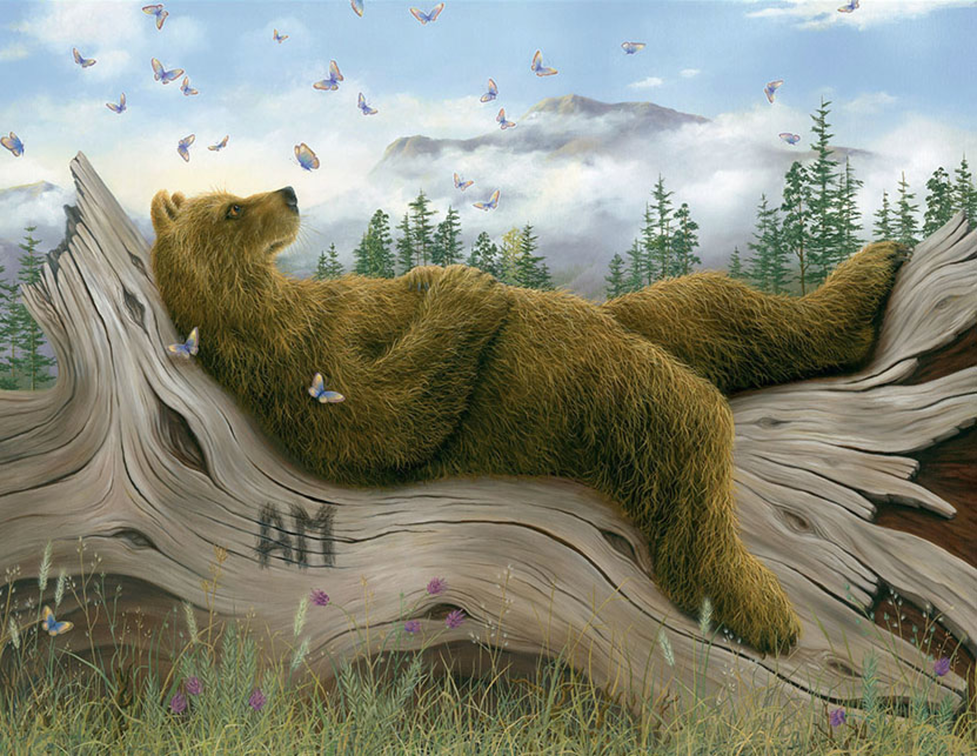 Am II by Robert Bissell