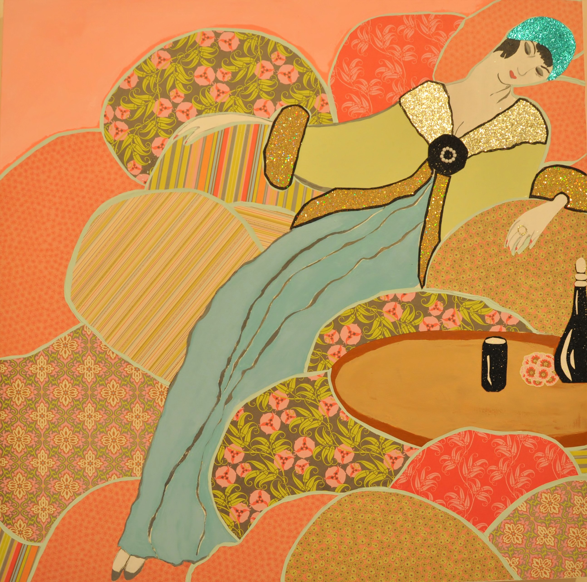 Dreaming Of Georges Lepape=  SOLD by Andi M