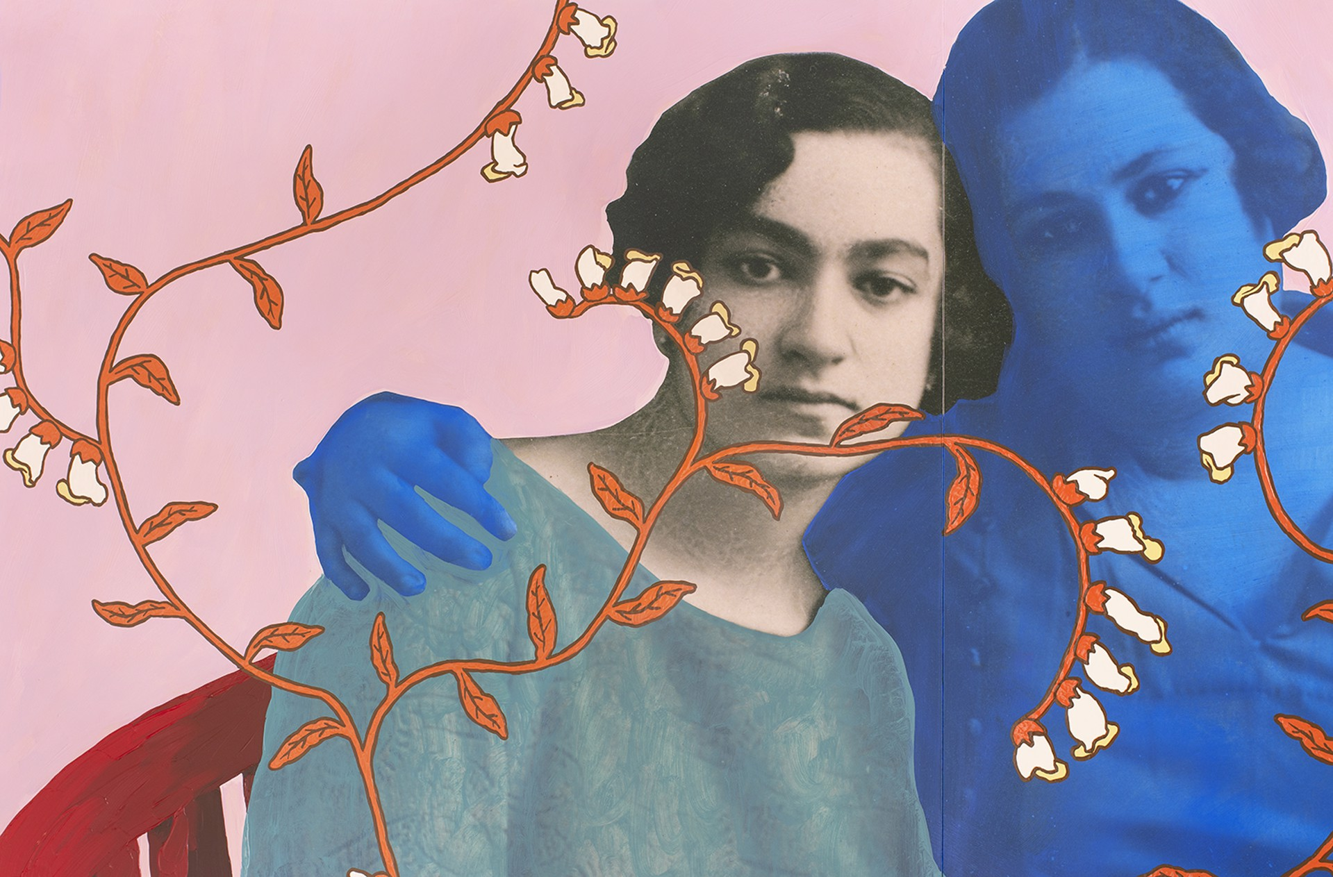 Untitled (Family Portrait with Photograph) by Daisy Patton