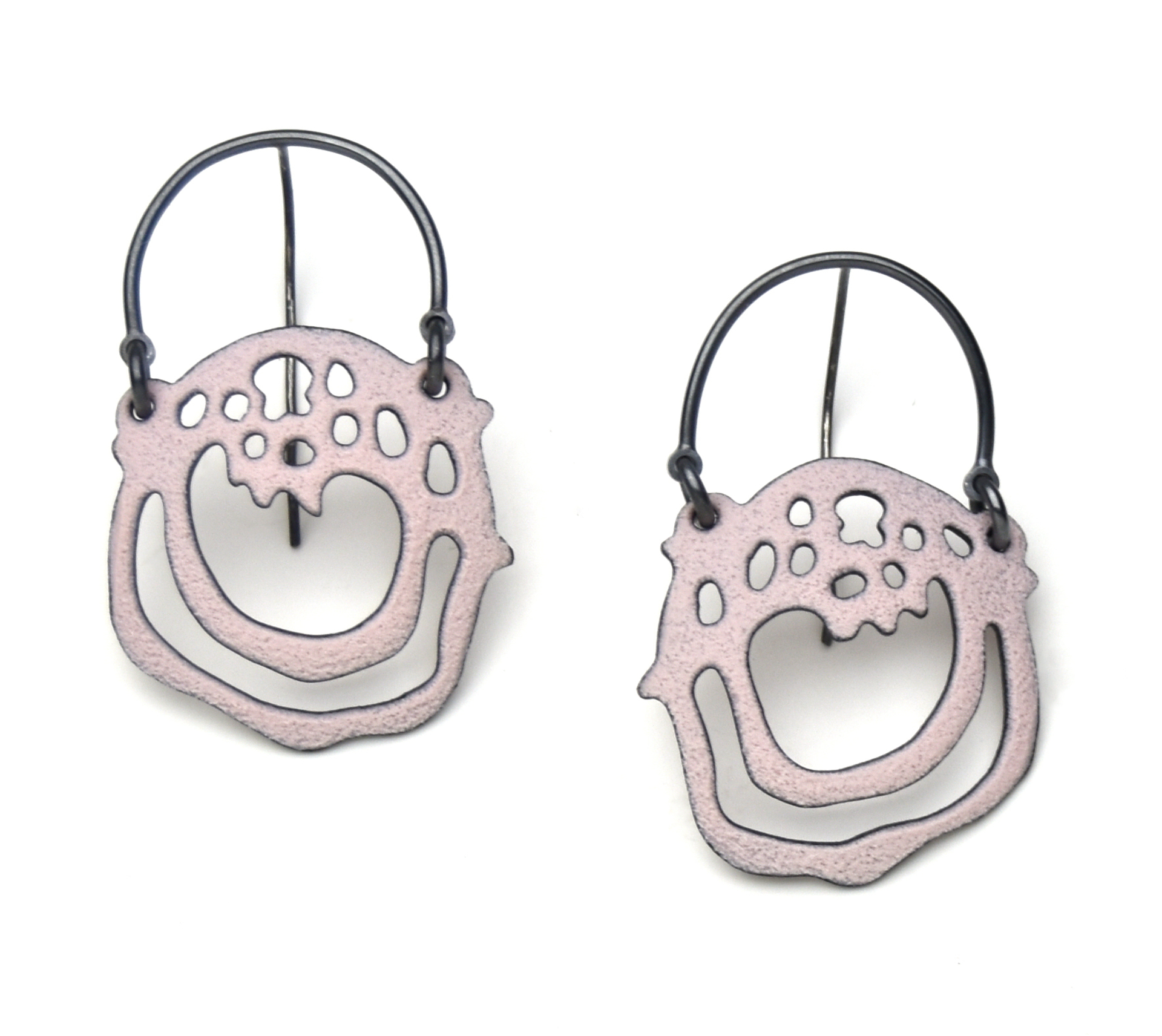 Round Cell Earrings by Joanna Nealey