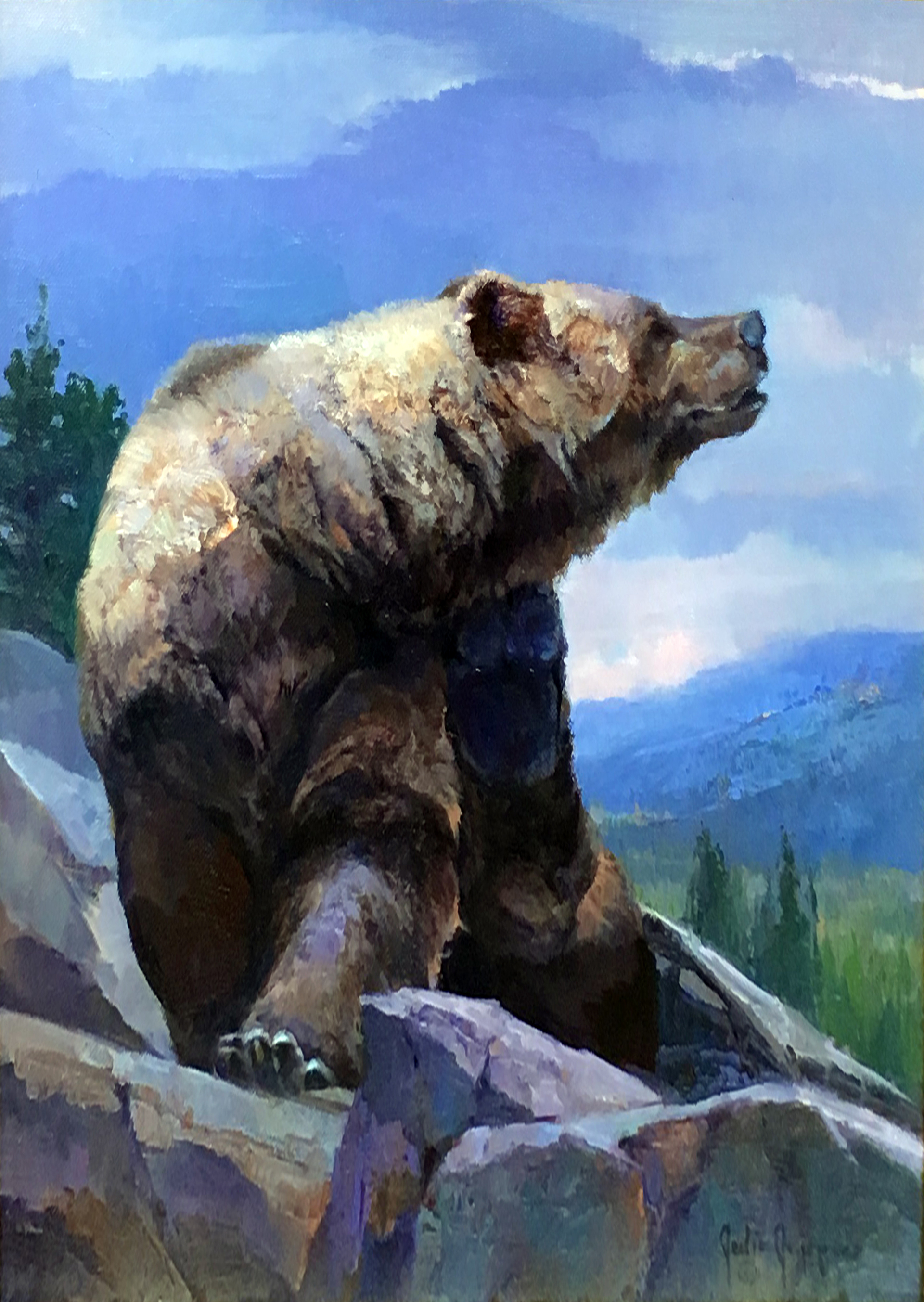 Seven Year Itch (Grizzly) by Julie Jeppsen