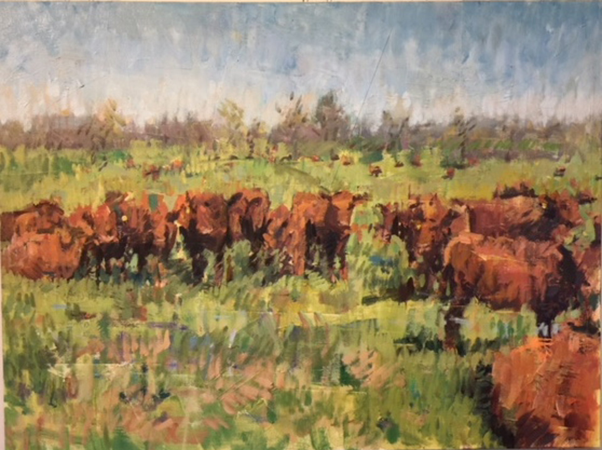 Jersey Cows by James Erickson