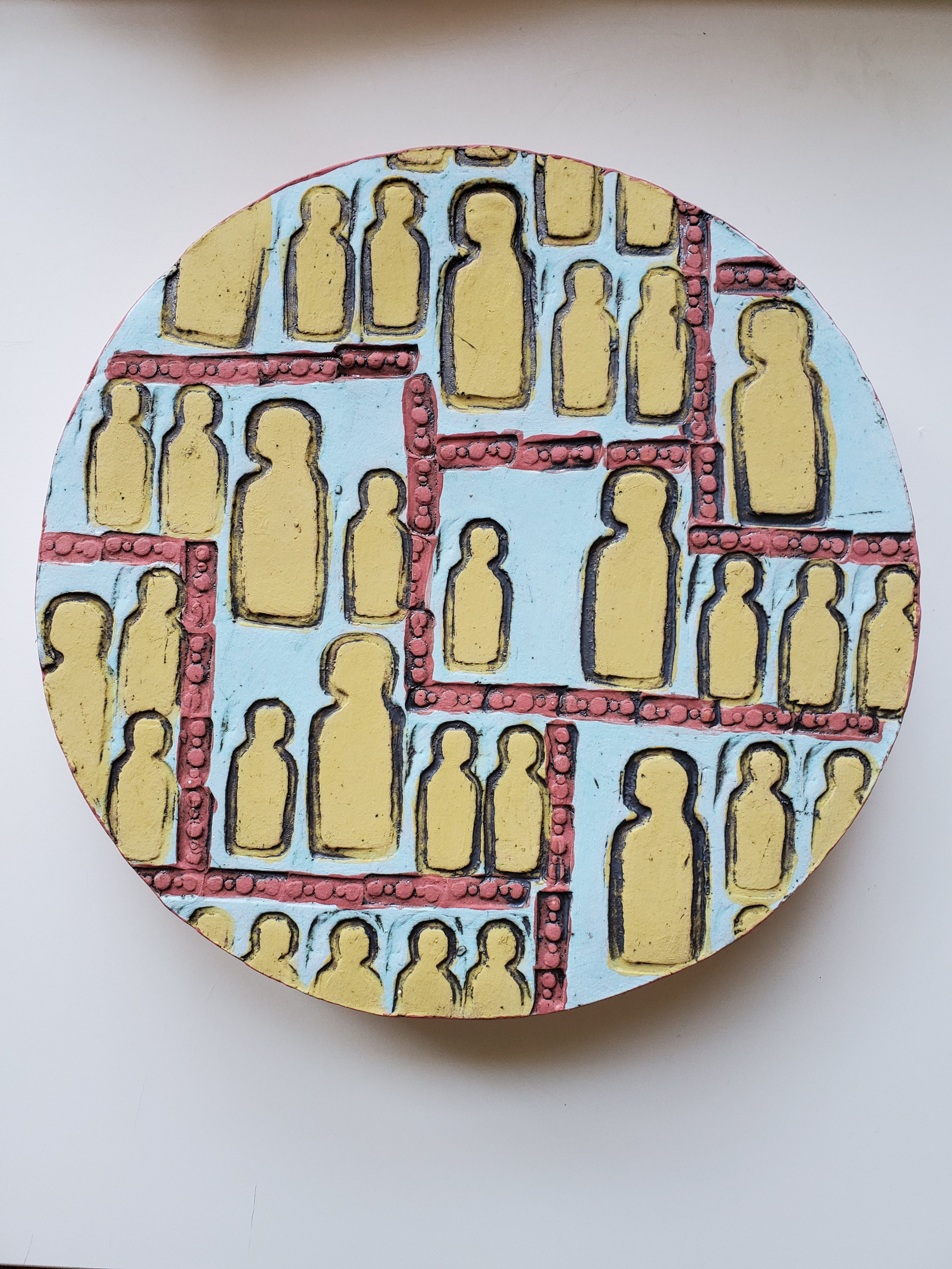 Large Ceramic Social Circle by Cassie Butcher