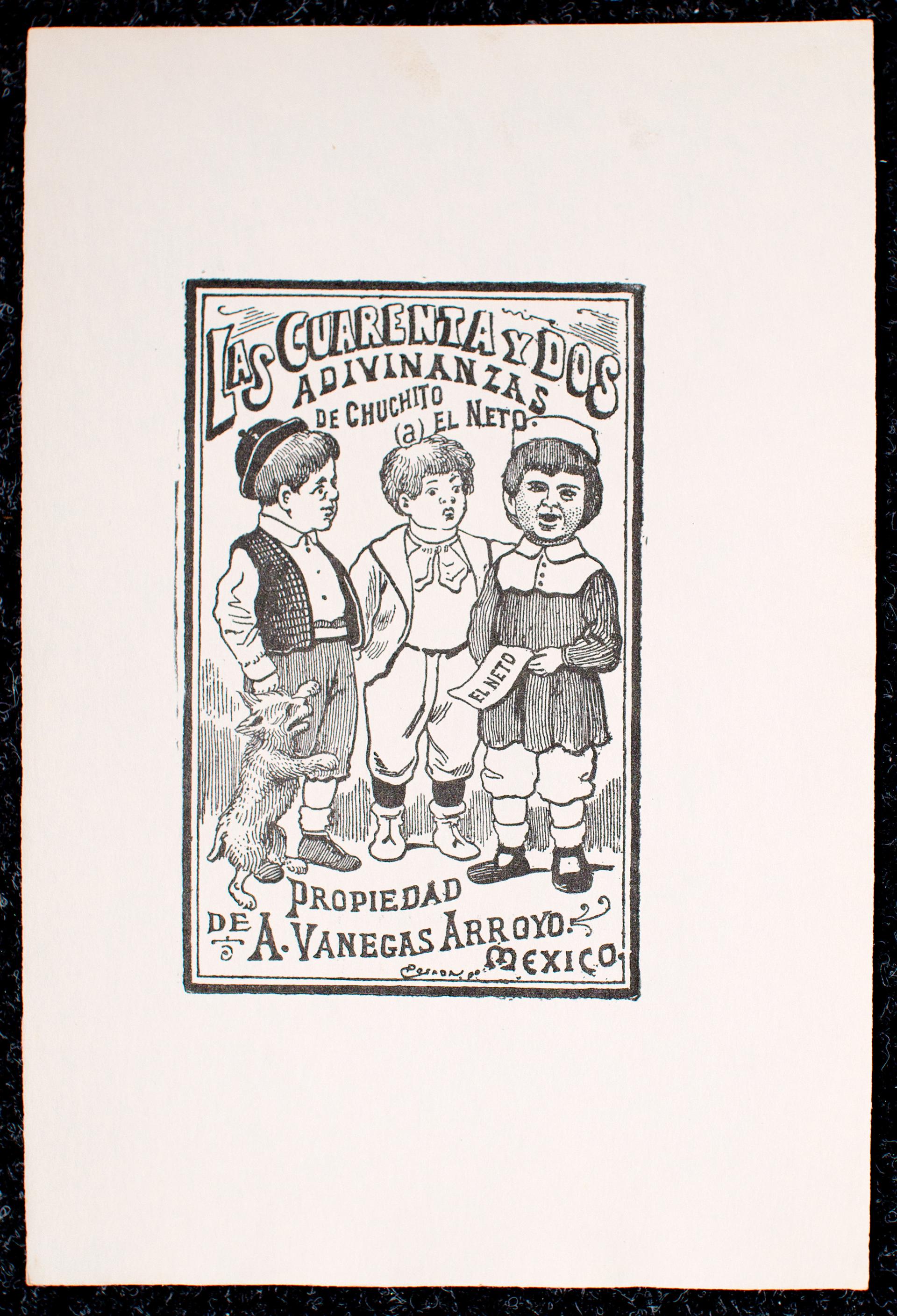 Las Cuarenta y Dos Adivinanzas by José Guadalupe Posada (1852 - 1913)