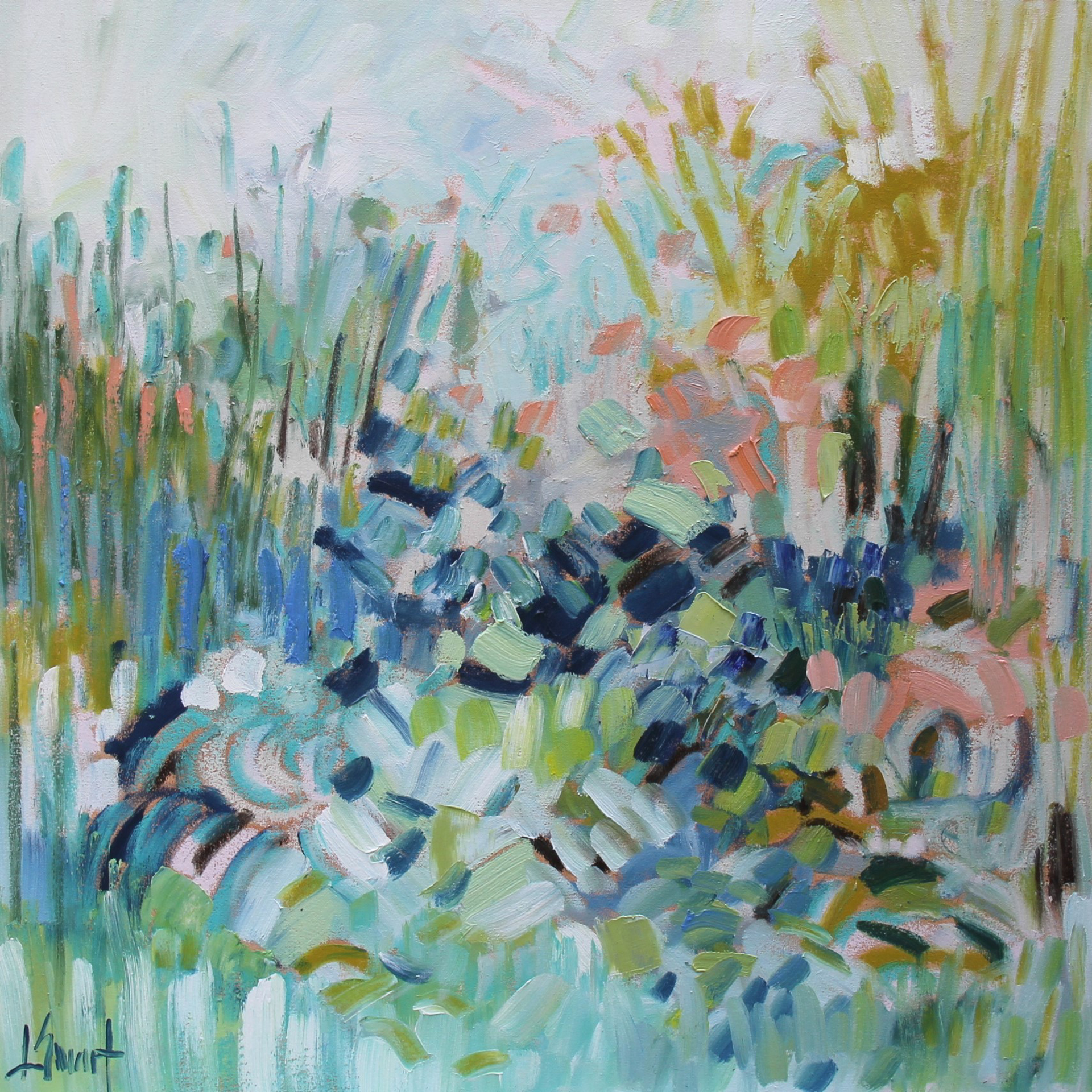 Marsh Grasses by Libby Smart