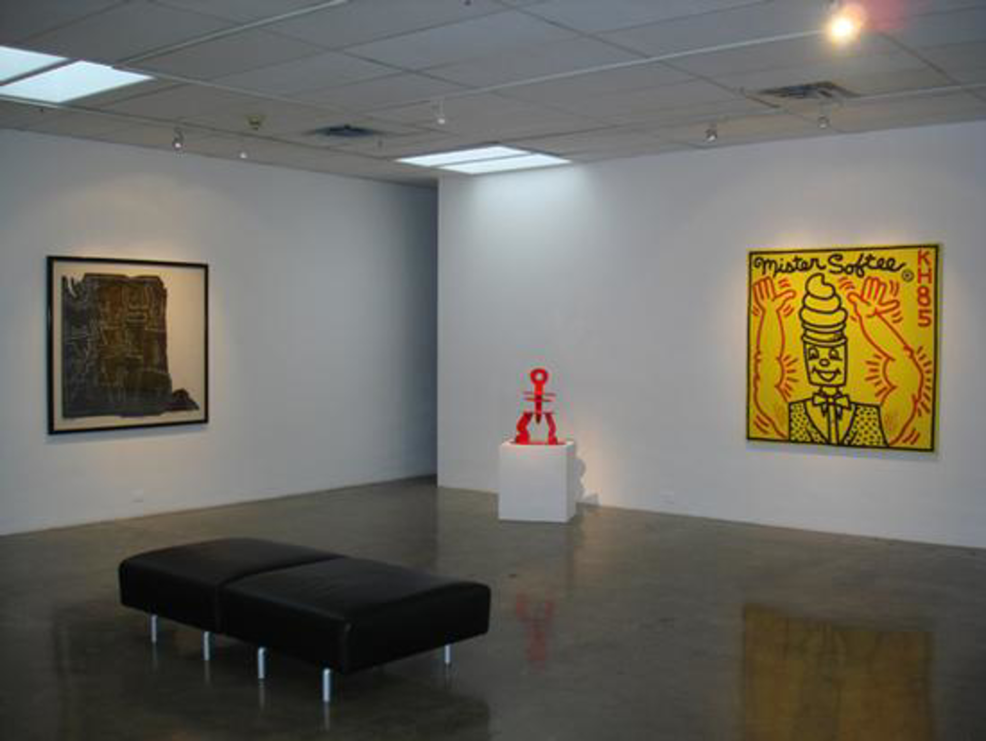 Untitled Robots, Figures and Radiant Angel by Keith Haring