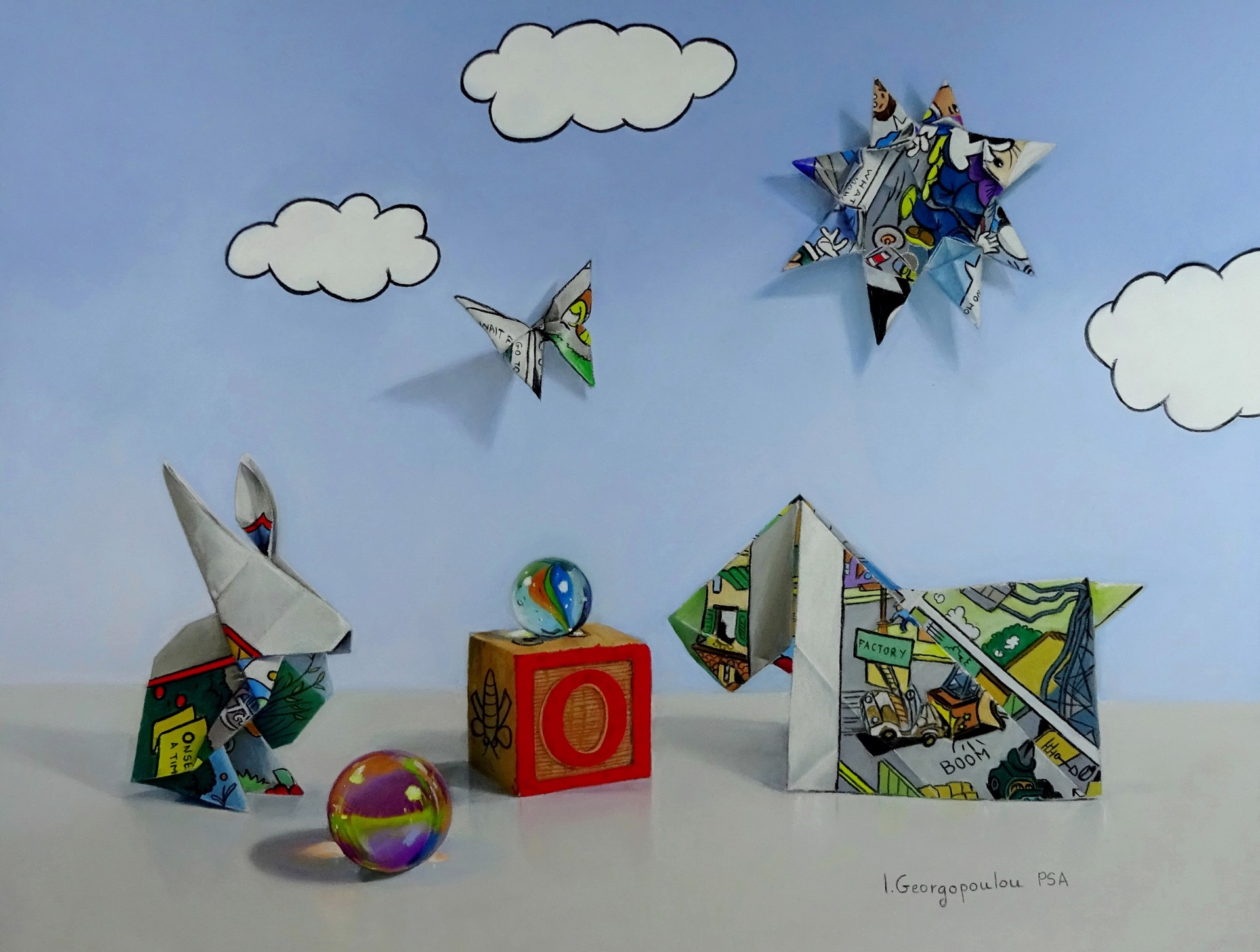 O is for Origami by Irene Georgopoulou