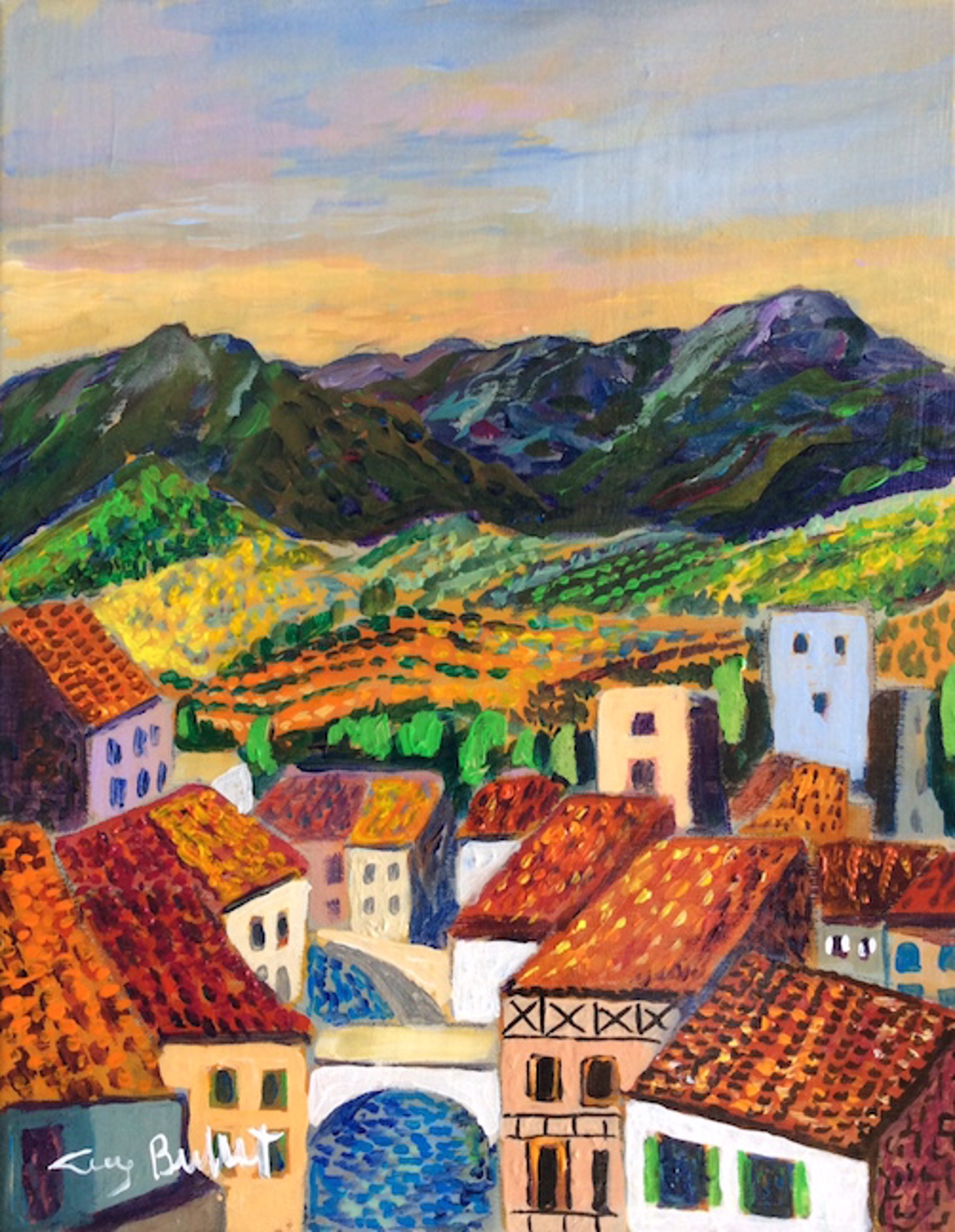France ; Basque Village by Guy Buffet
