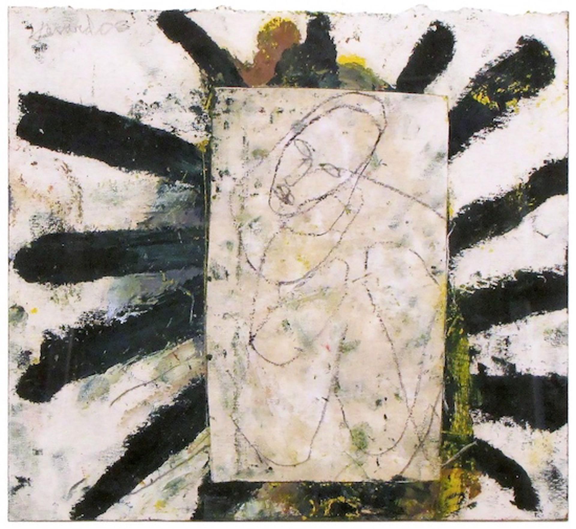 Nude on Green Asterisks by James Havard