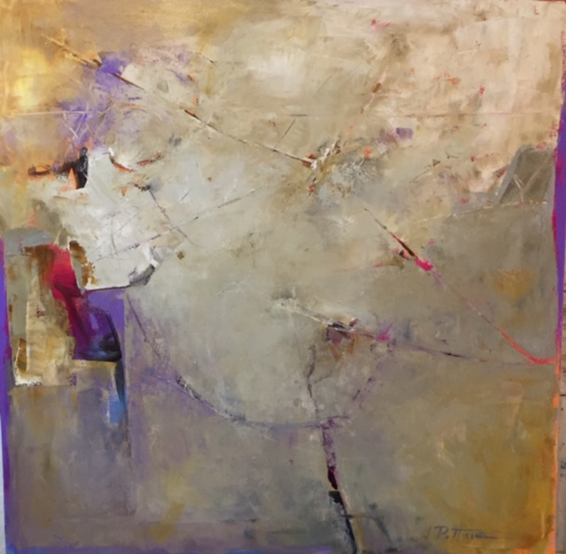 Tide Marks 1 by Jim Pittman