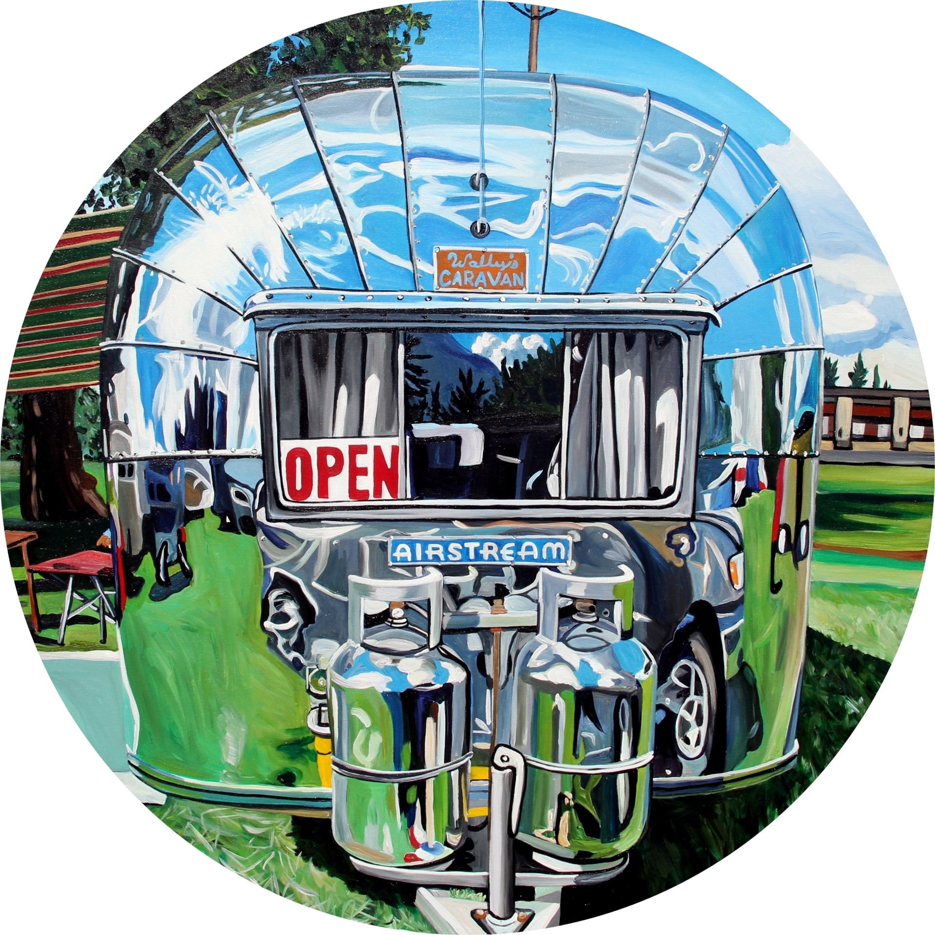 Wally's Air Stream by Taralee Guild