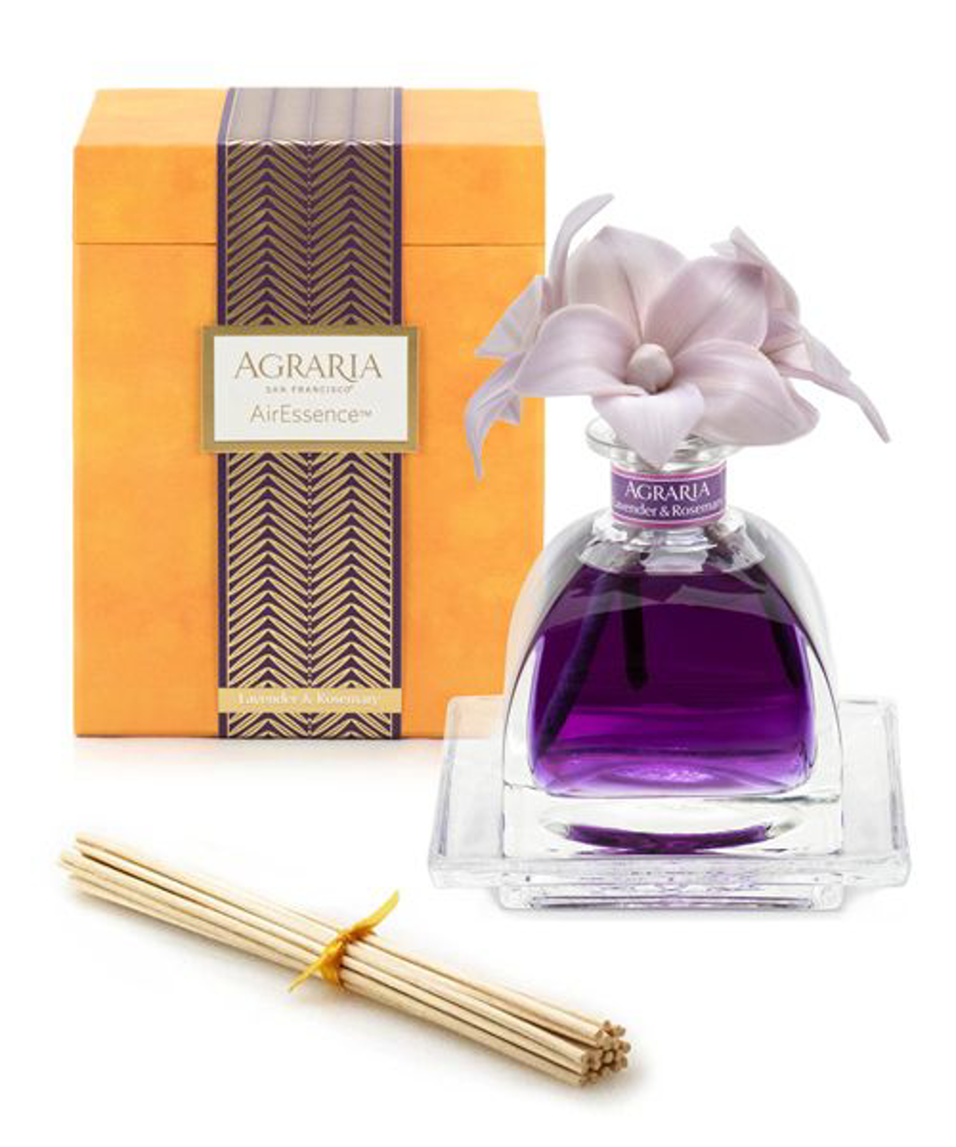Lavender & Rosemary Air Essence Diffuser  7.4oz by Agraria Diffusers