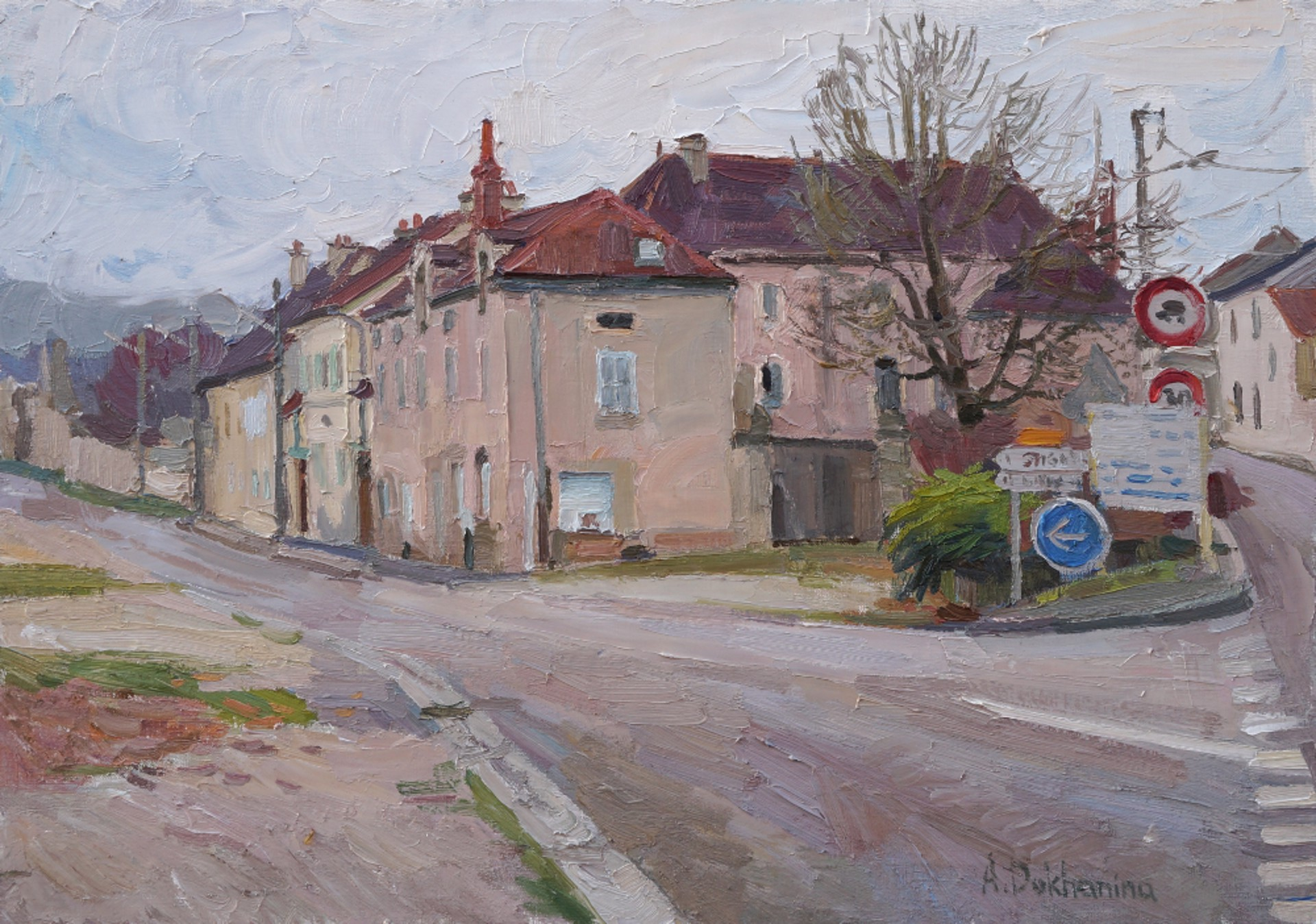 Cross Road by Anastasia Dukhanina