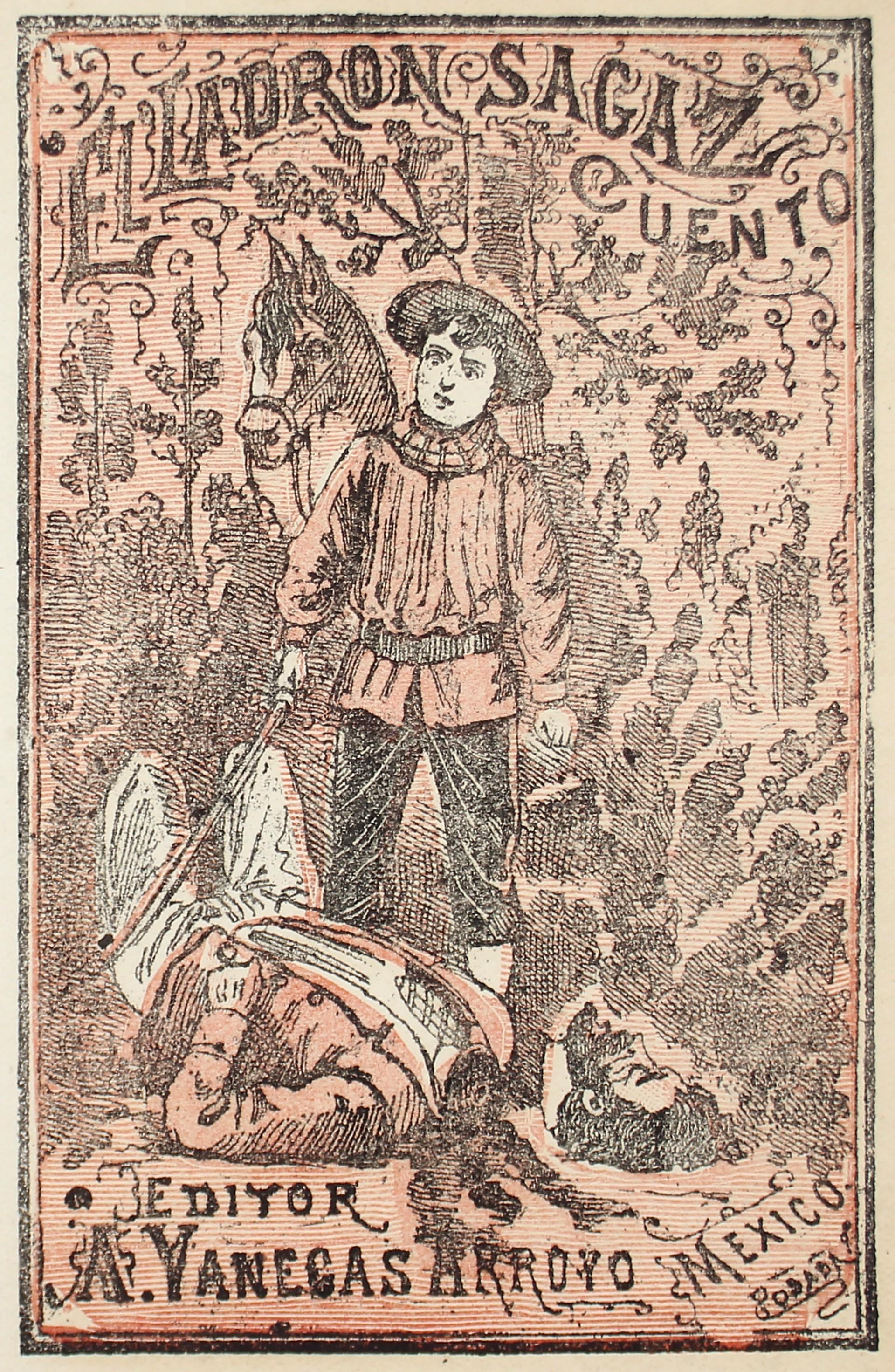 El Ladron Sagaz by José Guadalupe Posada (1852 - 1913)