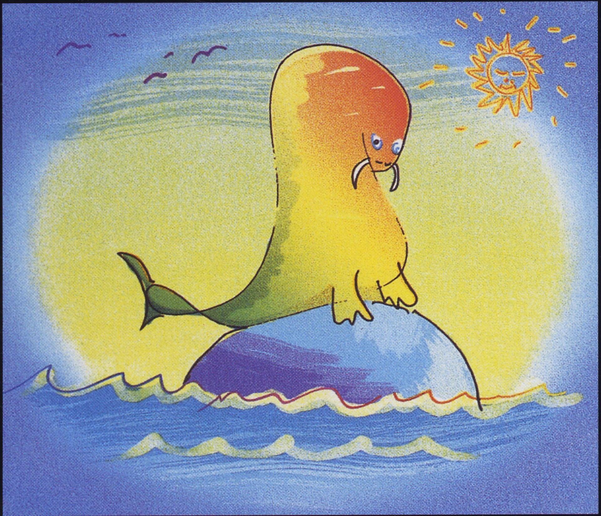 """""""Walrus Wading"""" by John Lennon"""