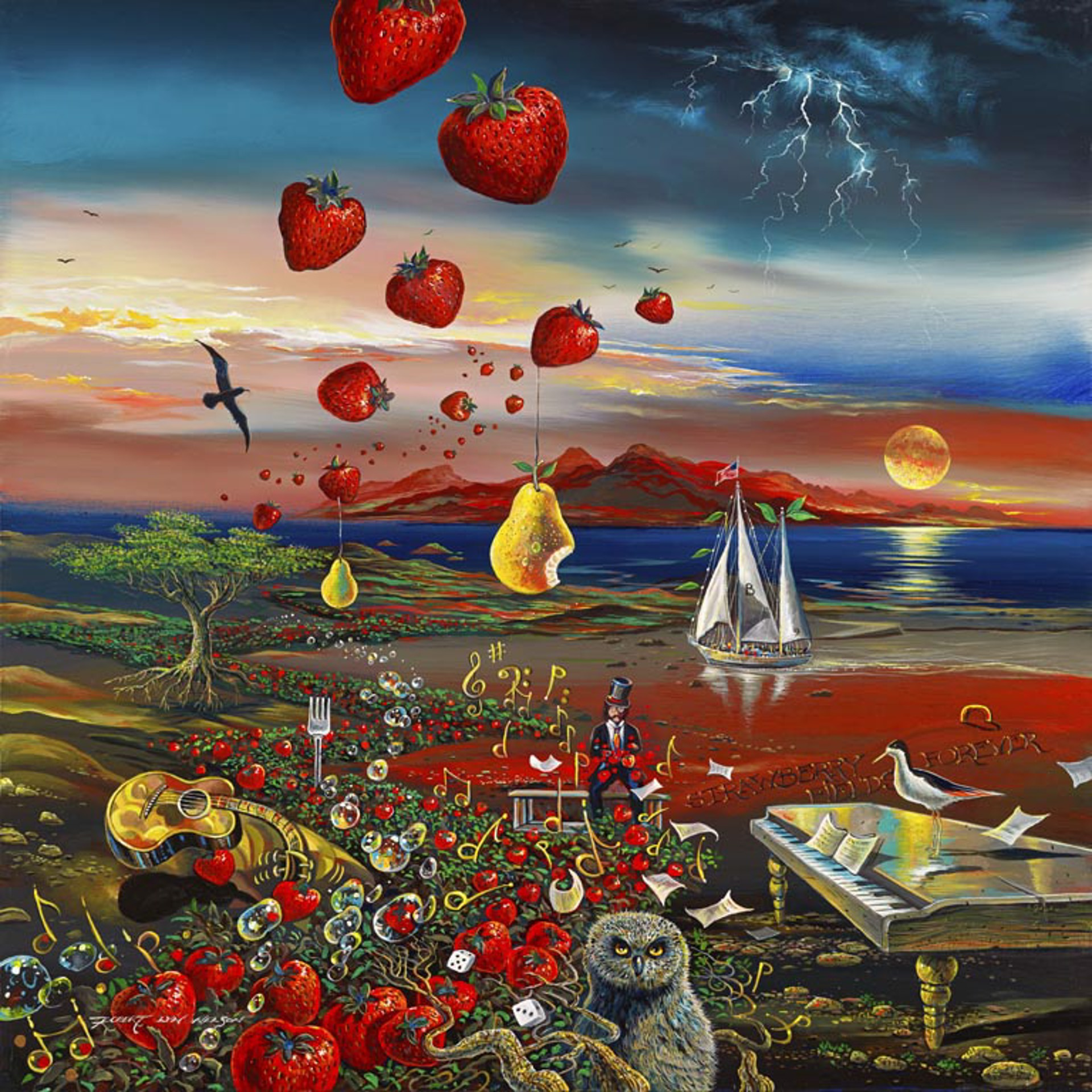 Strawberry Fields Forever by Robert Lyn Nelson