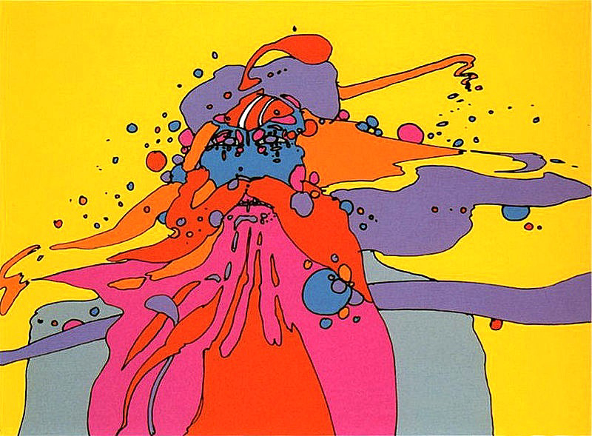 Knowledge Bliss Absolute by Peter Max