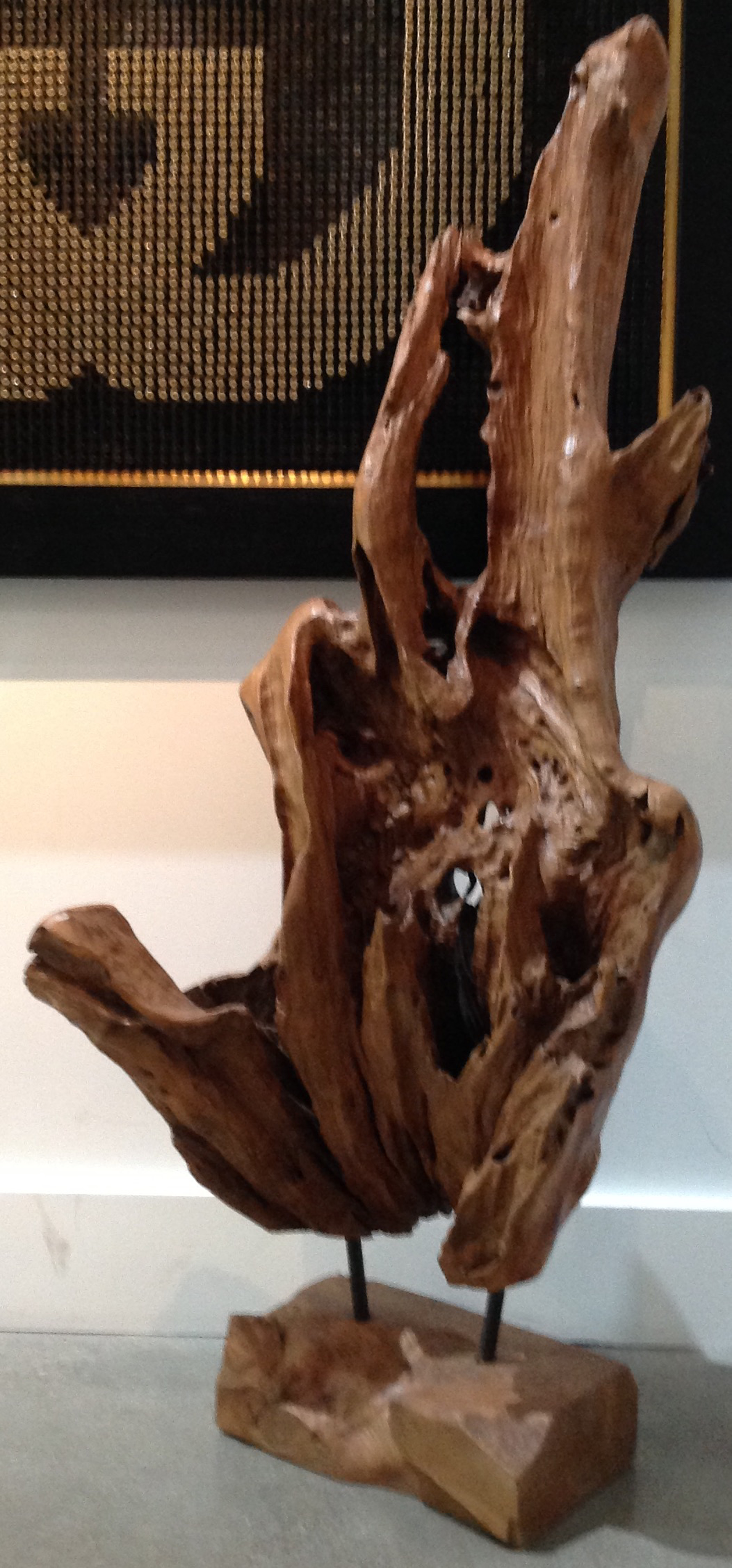 Teakwood Sculpture by I Made