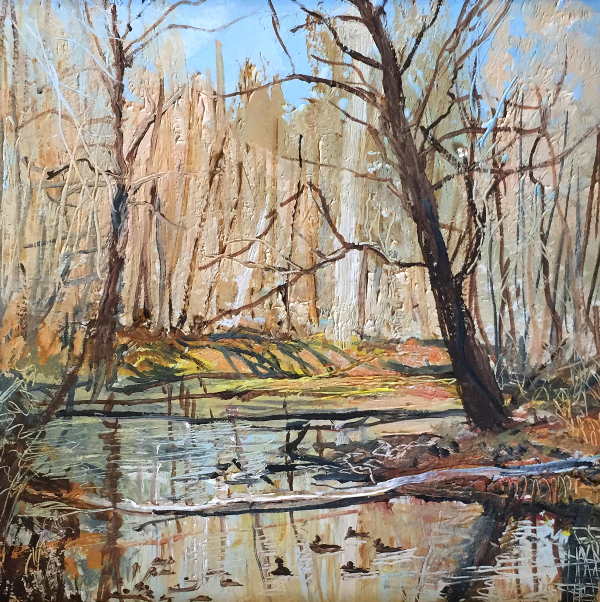 Winter Creek by Frank Baggett