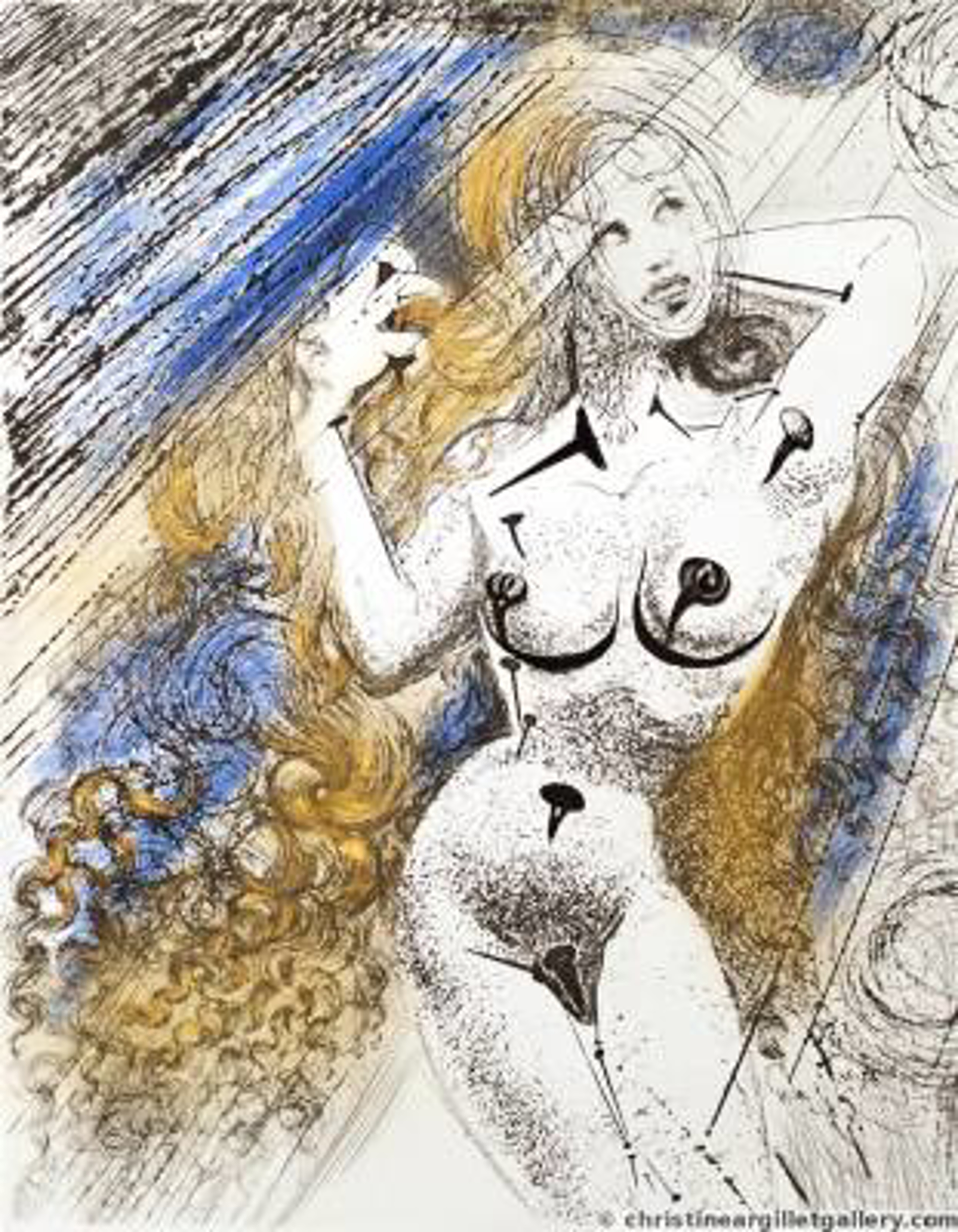 Marilyn Monroe by Salvador Dali