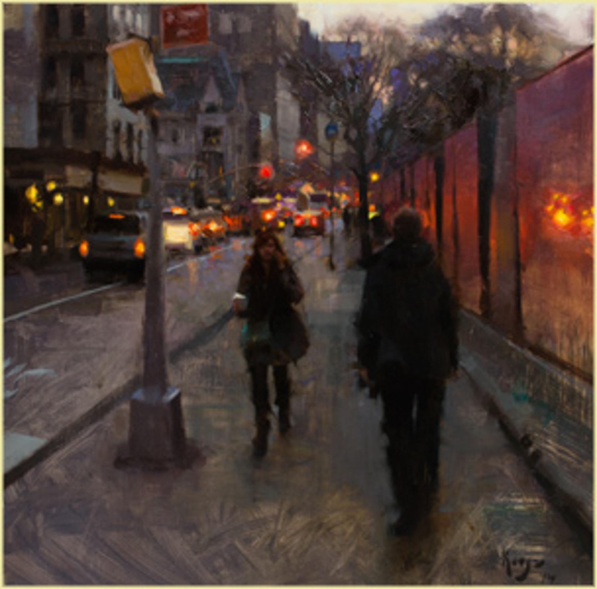 5th Avenue Twilight by Daniel Keys