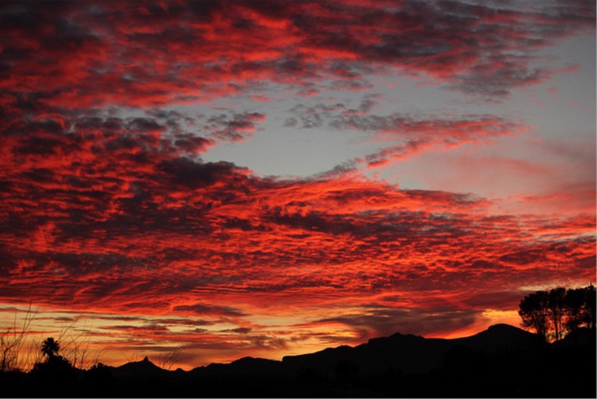 A Rio Rico Sunset by John Hays