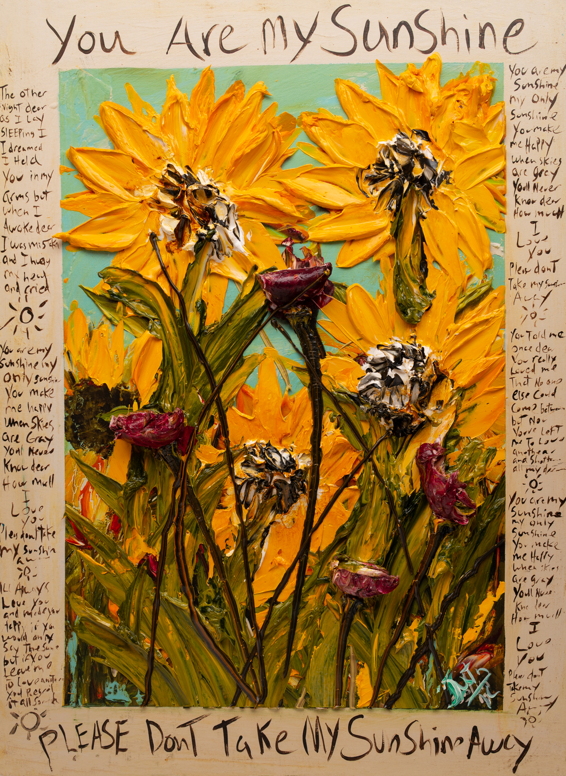 YOU ARE MY SUNSHINE URMS HPAE 11-50-24X32-2019-33 by JUSTIN GAFFREY EDITIONS