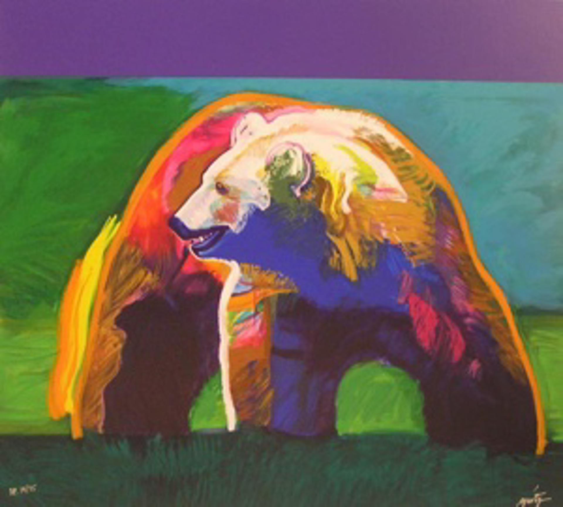 """""""Stronger""""-Olympic Suite - John Nieto by Wolf Collection"""