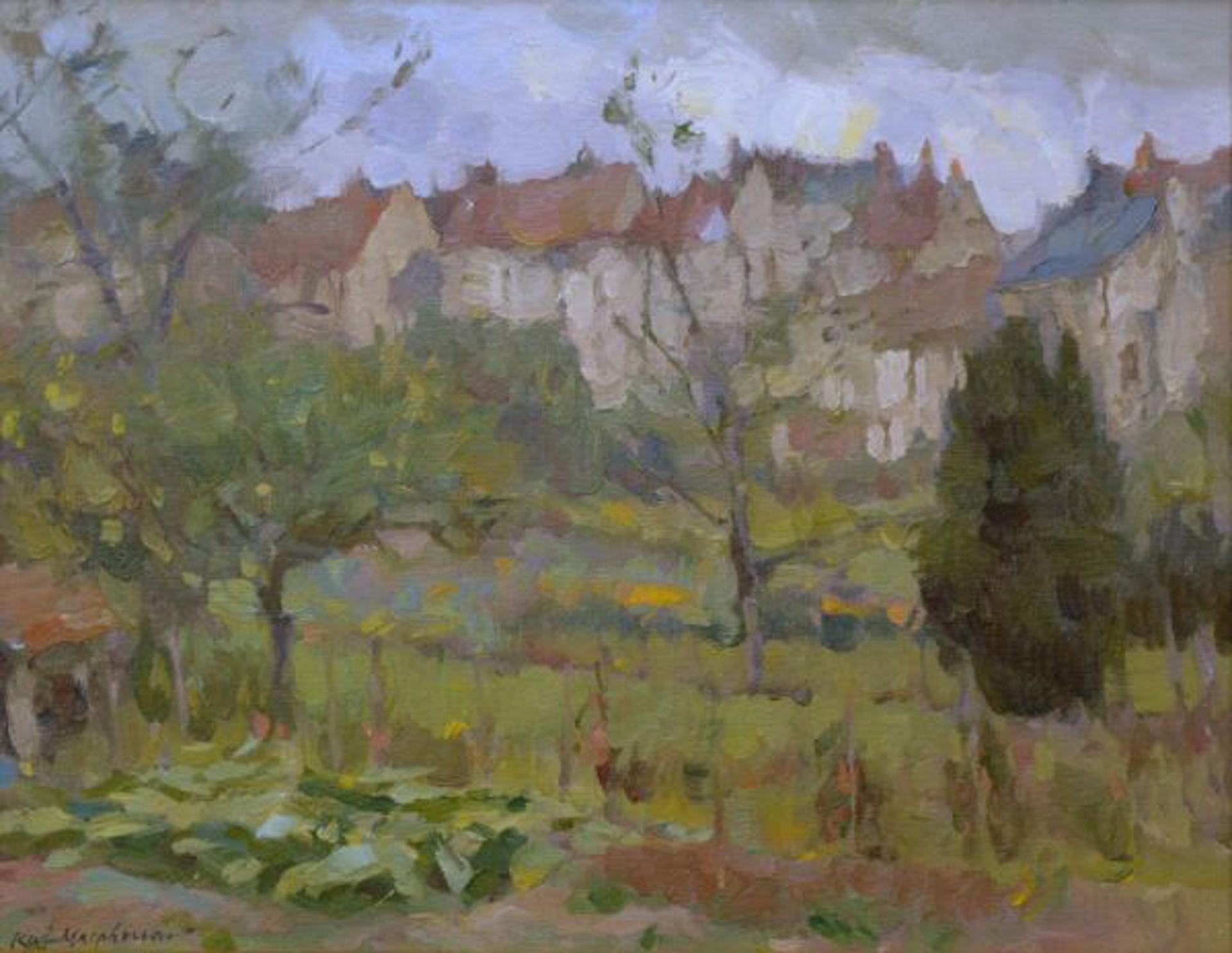 Community Garden (Montresor, France) by Kevin Macpherson