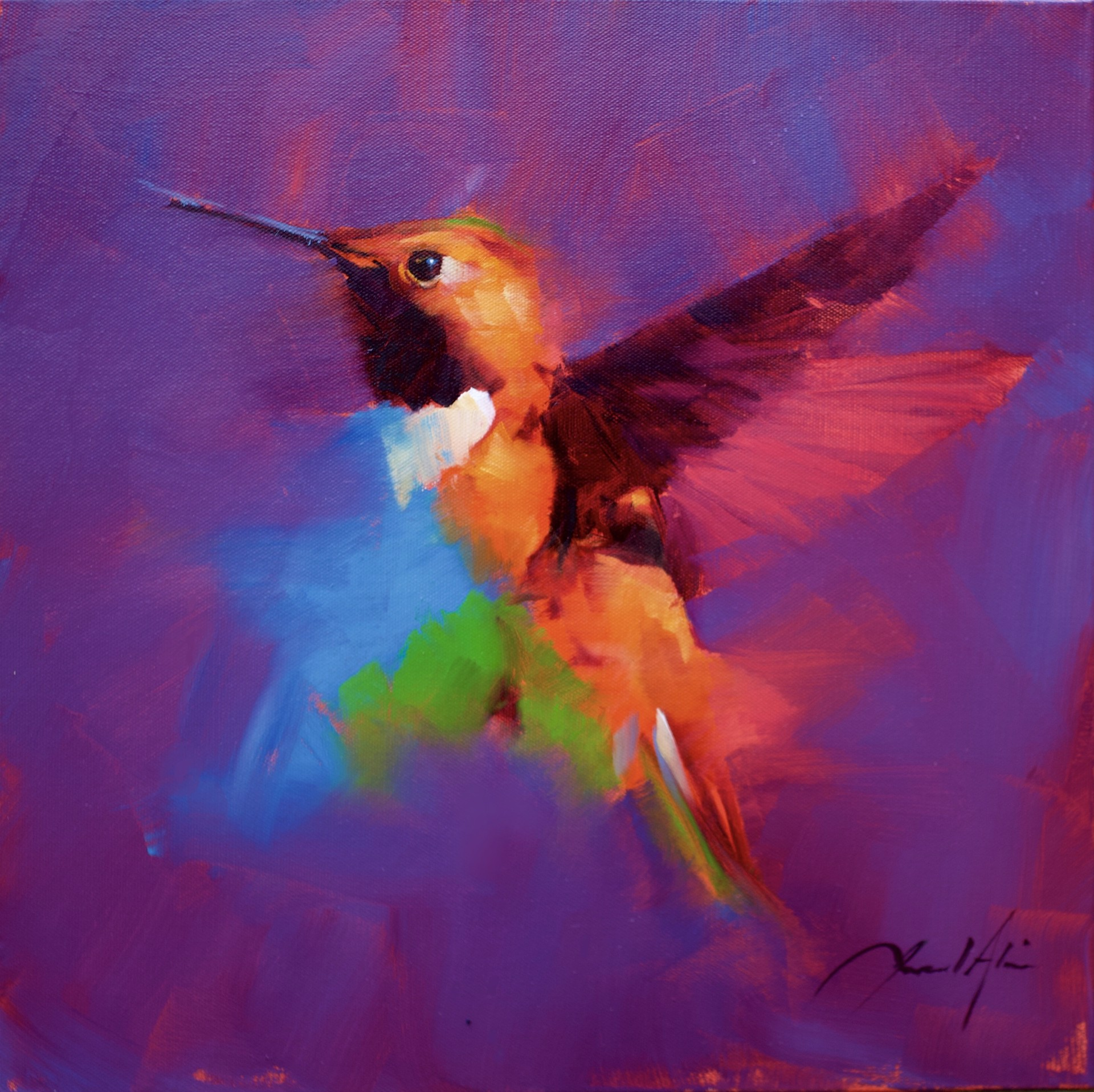 Hummingbird XIII by Jamel Akib