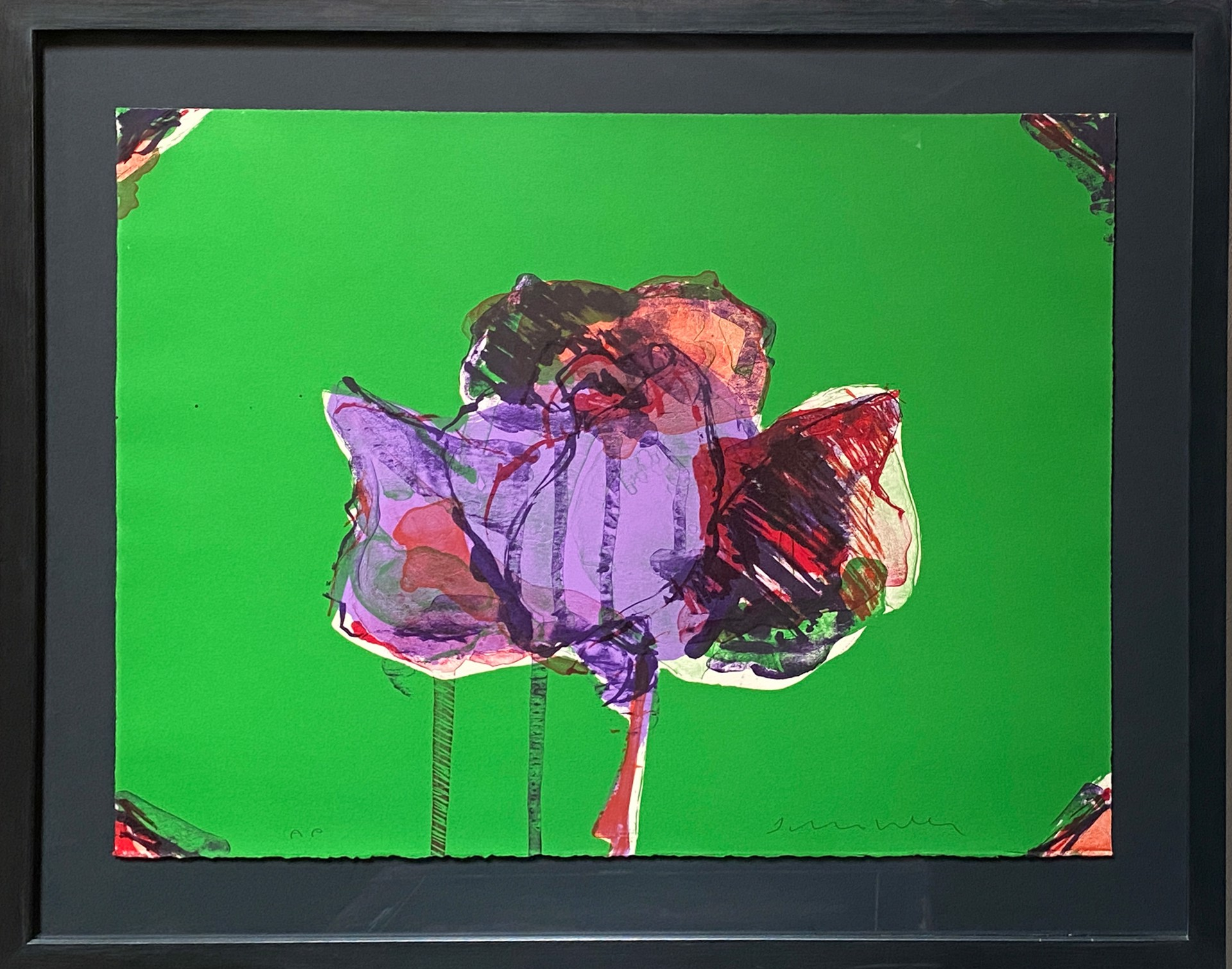 The Rose-State I by Fritz Scholder
