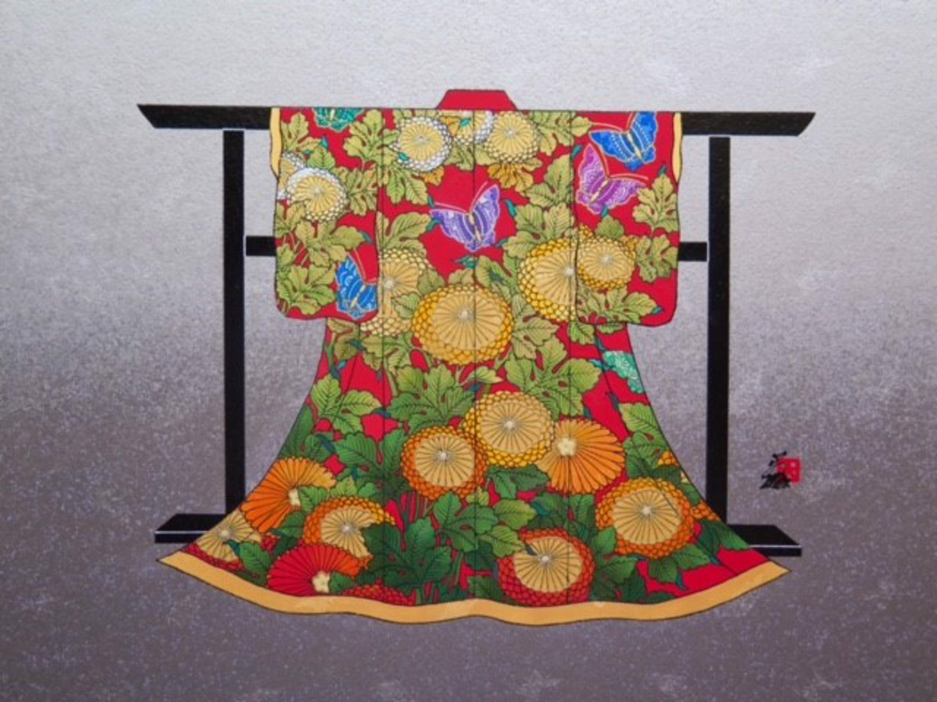 Passion #16 (Mini Kimono) by Hisashi Otsuka