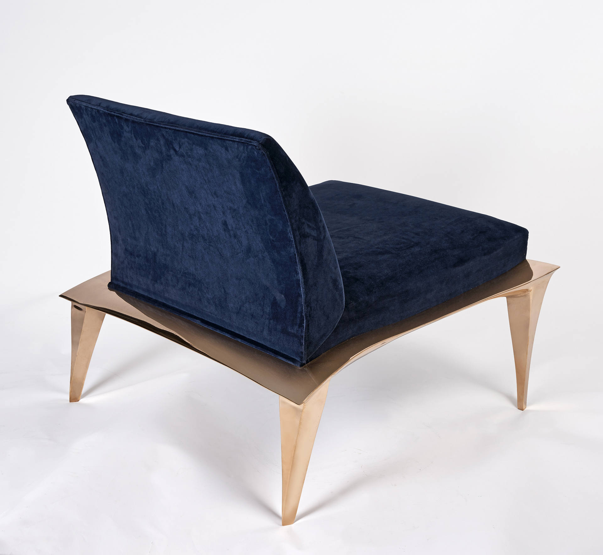 Bronze Armchair by Anasthasia Millot