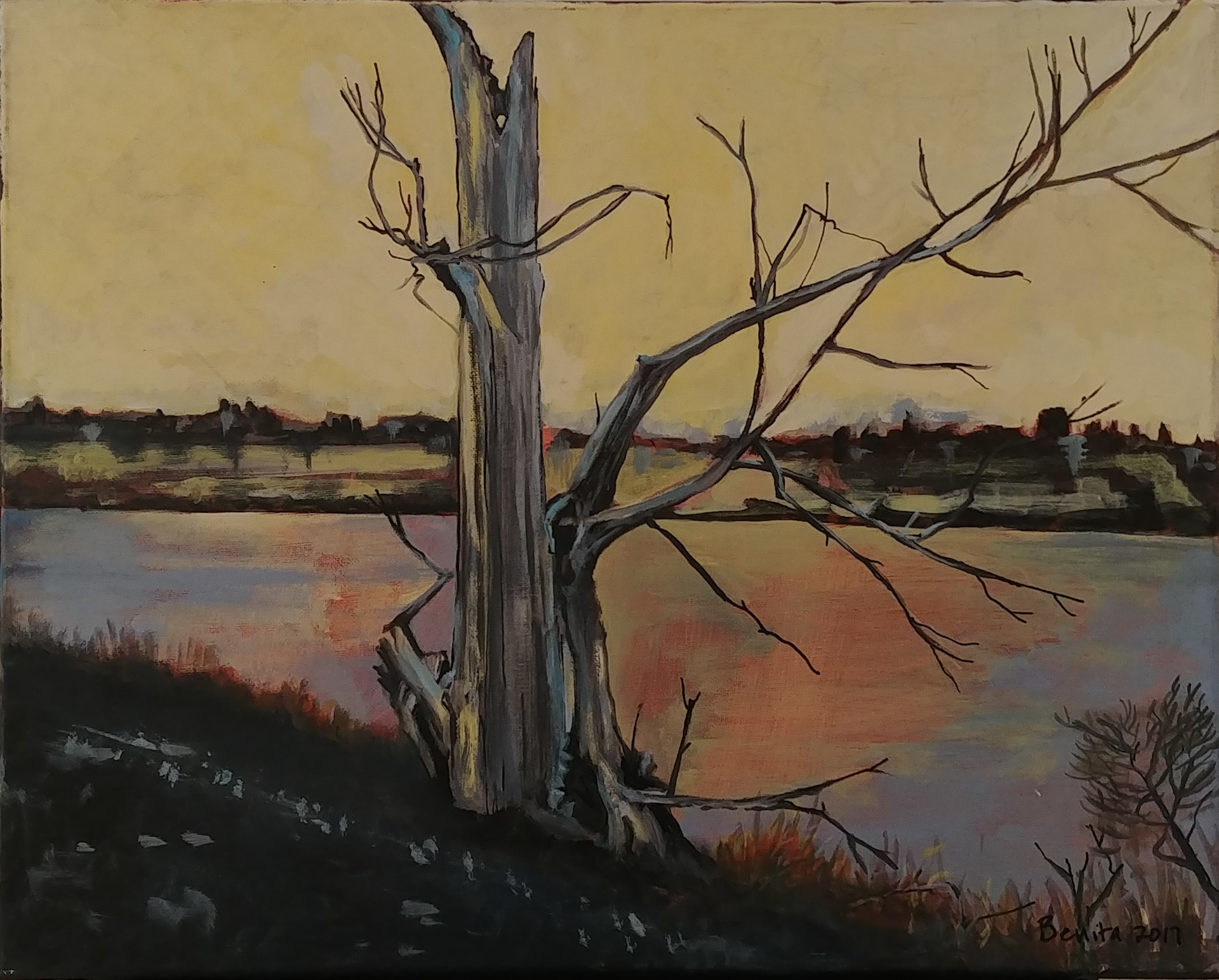 Riverwalk by Benita Cole (McMinnville, OR)