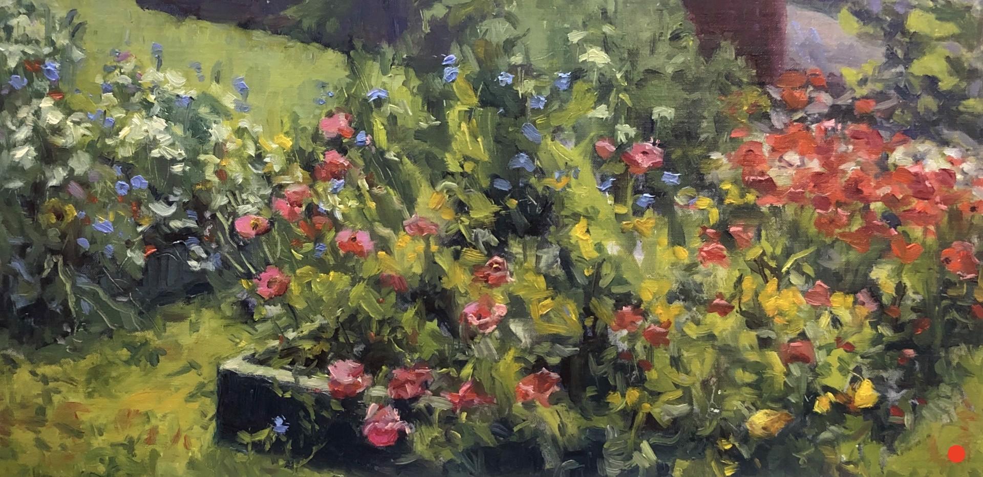 Island Garden by Pamela Lussier