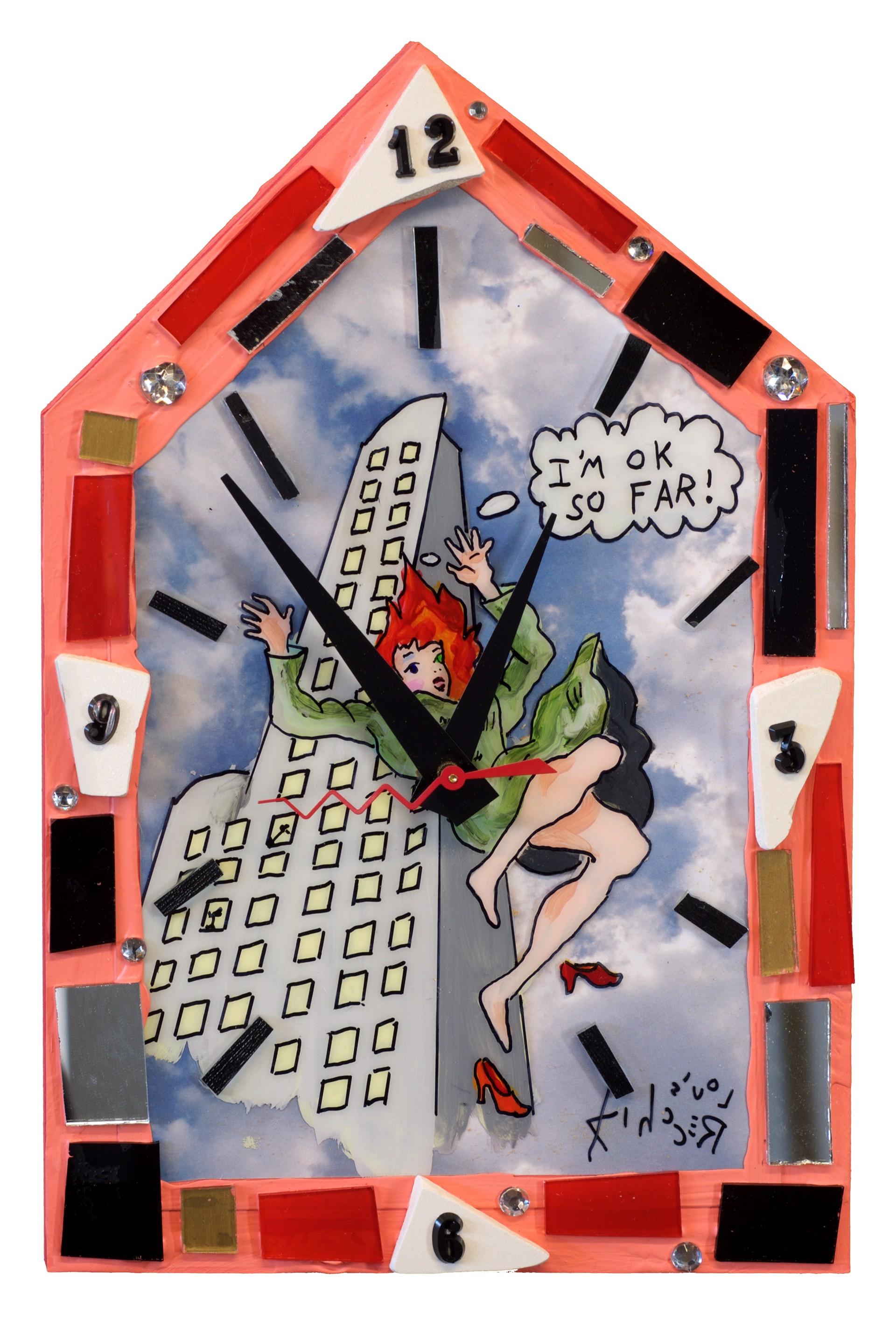 I'm OK So Far Clock by Louis Recchia