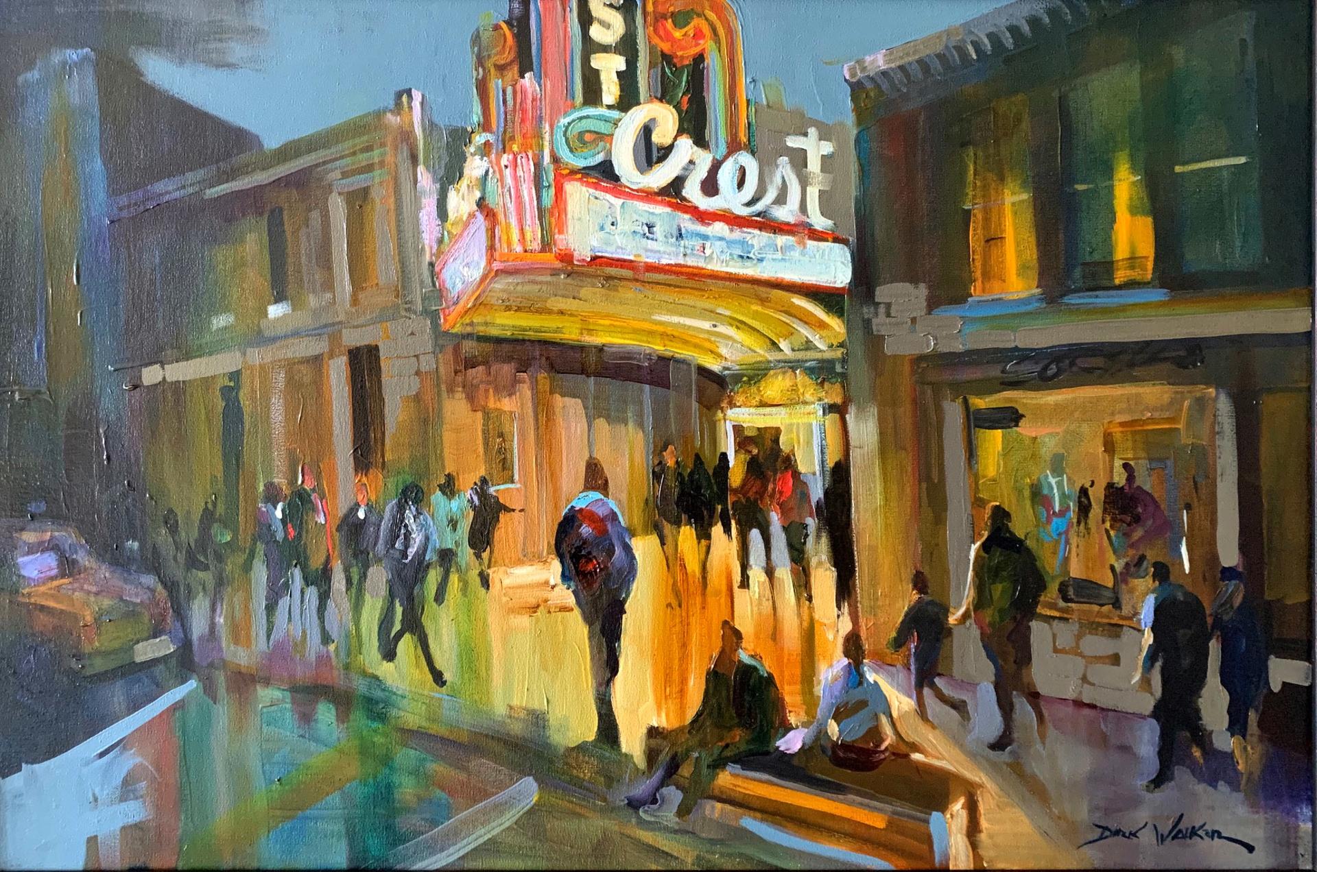 The Crest Theatre by Dirk Walker