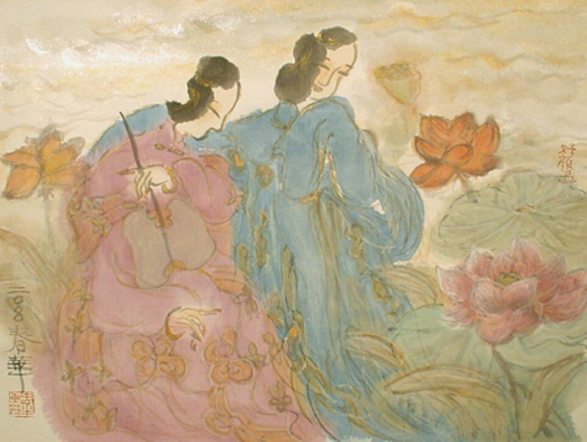 A Moment in a Spring Day #5 by Contemporary Chinese Art