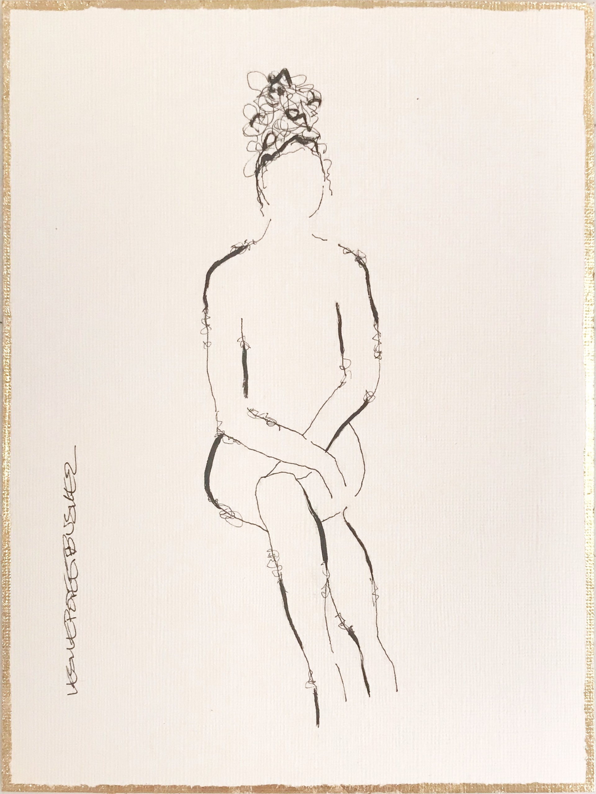 Figure No. 184 by Leslie Poteet Busker